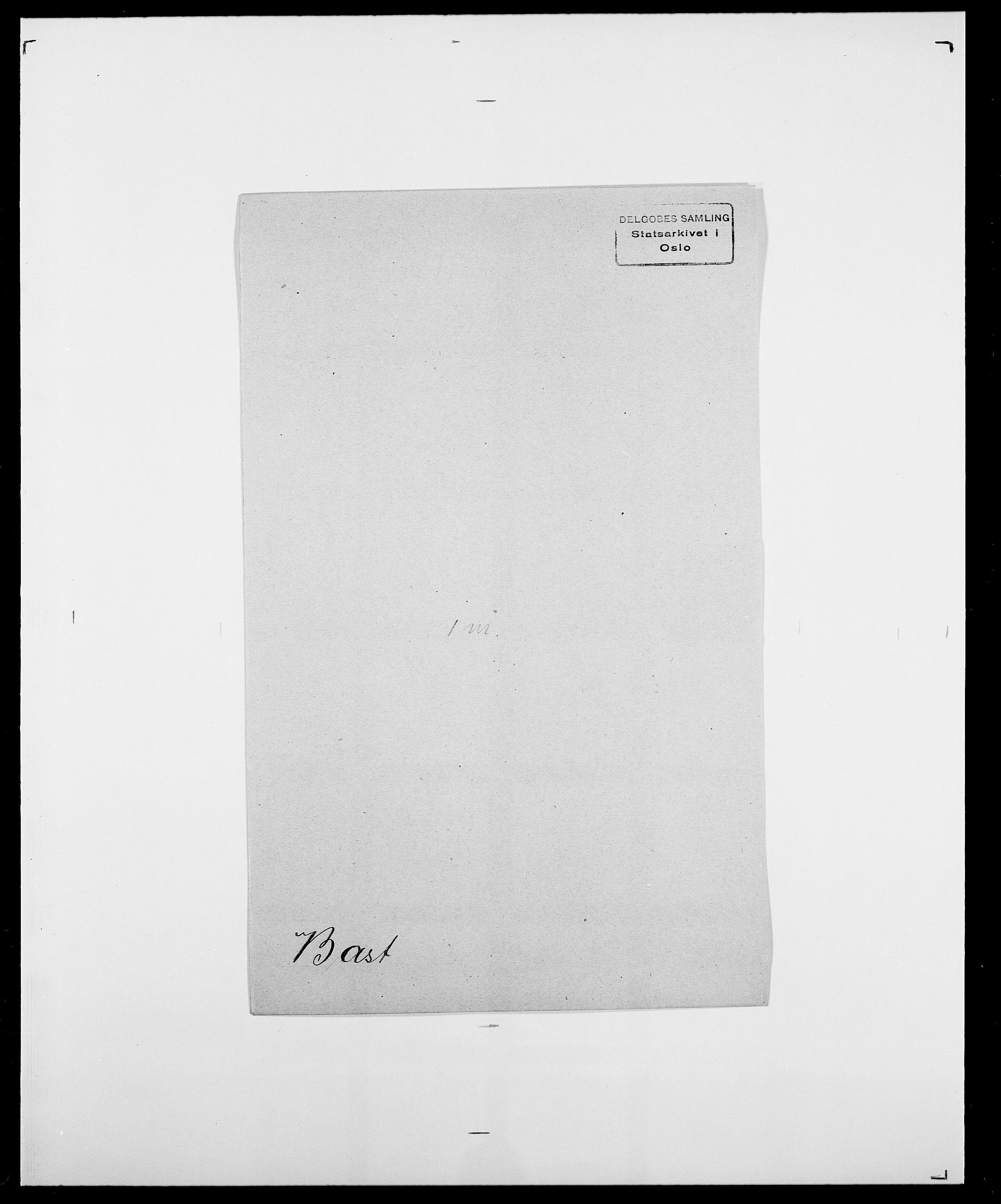 SAO, Delgobe, Charles Antoine - samling, D/Da/L0003: Barca - Bergen, s. 425
