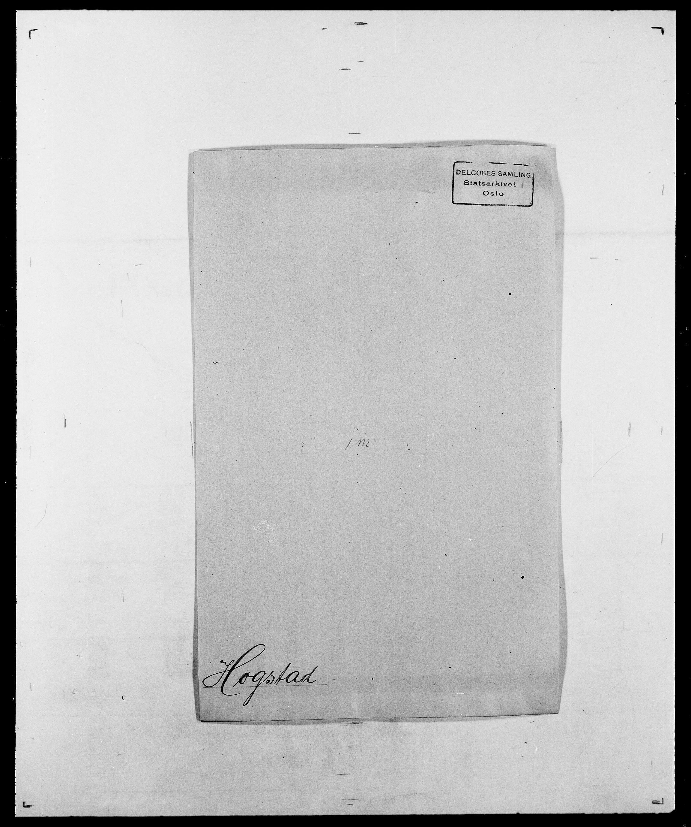 SAO, Delgobe, Charles Antoine - samling, D/Da/L0018: Hoch - Howert, s. 147