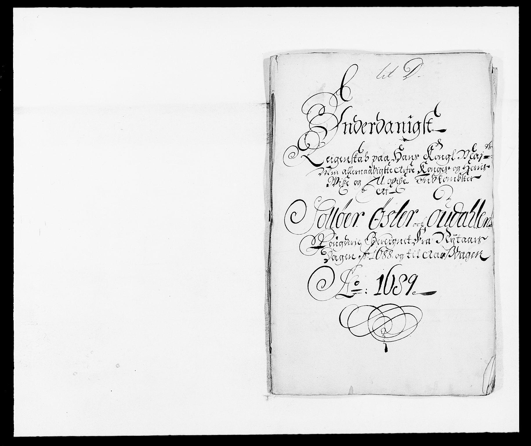 RA, Rentekammeret inntil 1814, Reviderte regnskaper, Fogderegnskap, R13/L0825: Fogderegnskap Solør, Odal og Østerdal, 1688, s. 174