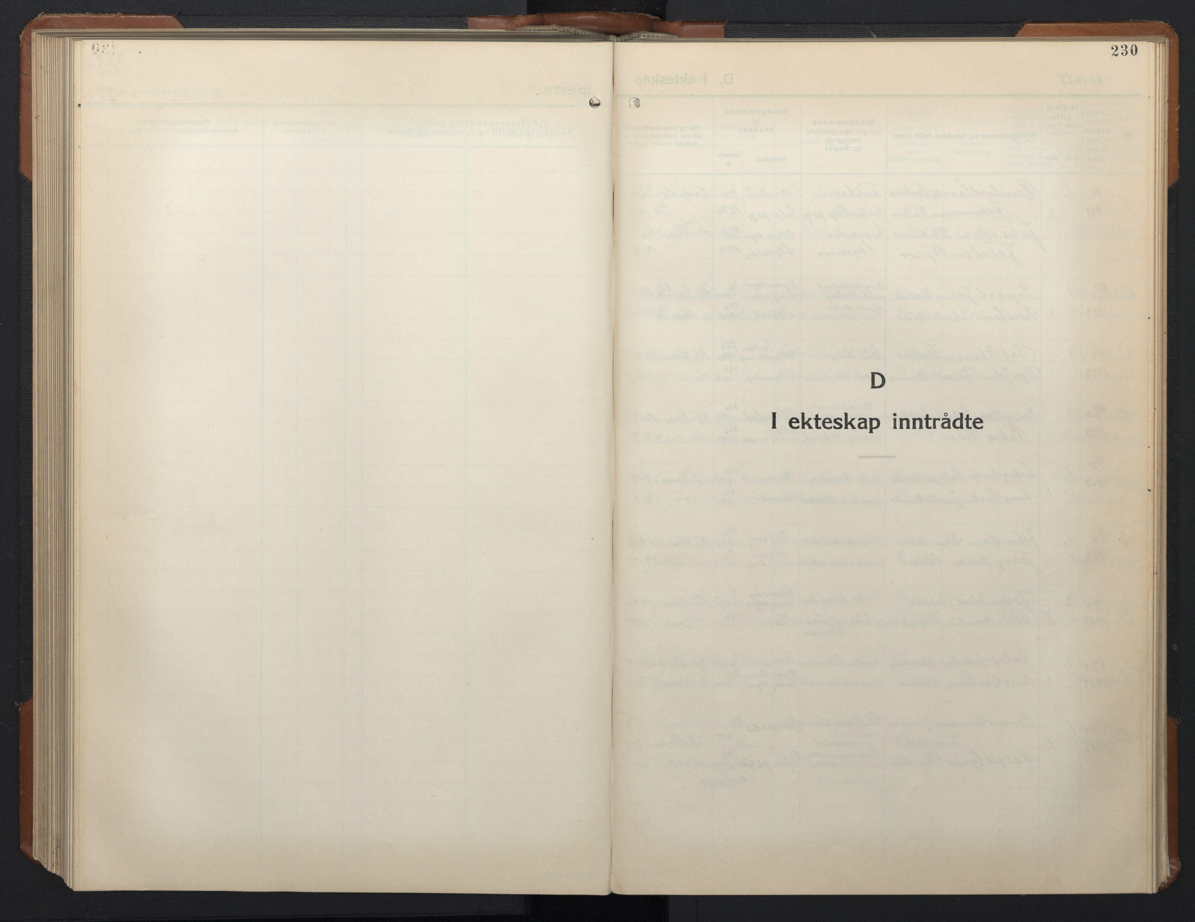 SAT, Ministerialprotokoller, klokkerbøker og fødselsregistre - Sør-Trøndelag, 657/L0718: Klokkerbok nr. 657C05, 1923-1948, s. 230