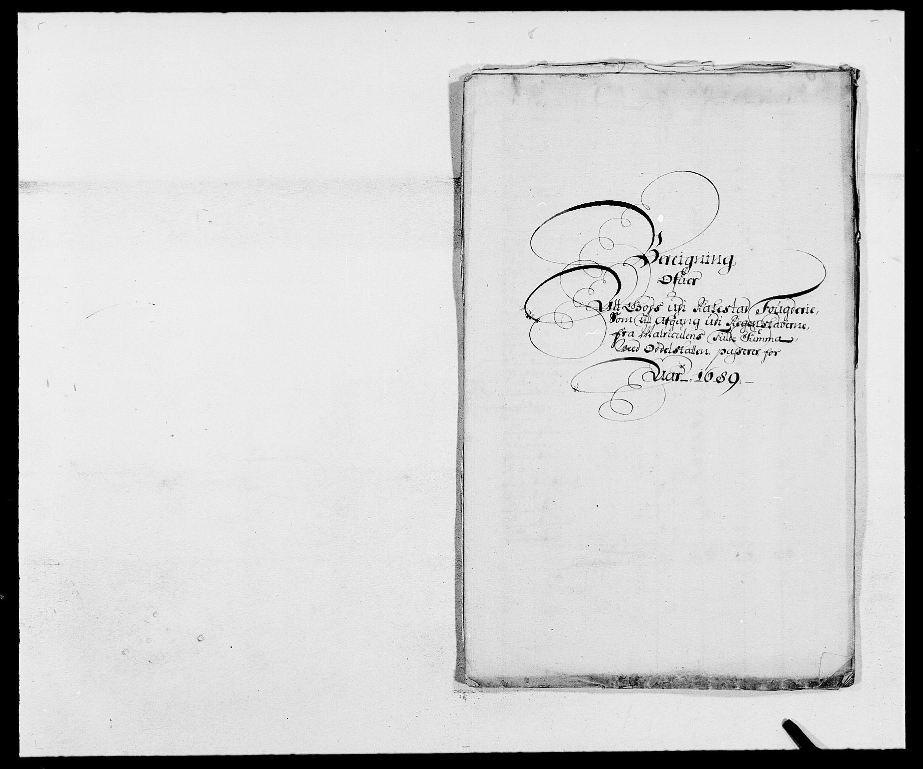 RA, Rentekammeret inntil 1814, Reviderte regnskaper, Fogderegnskap, R05/L0277: Fogderegnskap Rakkestad, 1689-1690, s. 338
