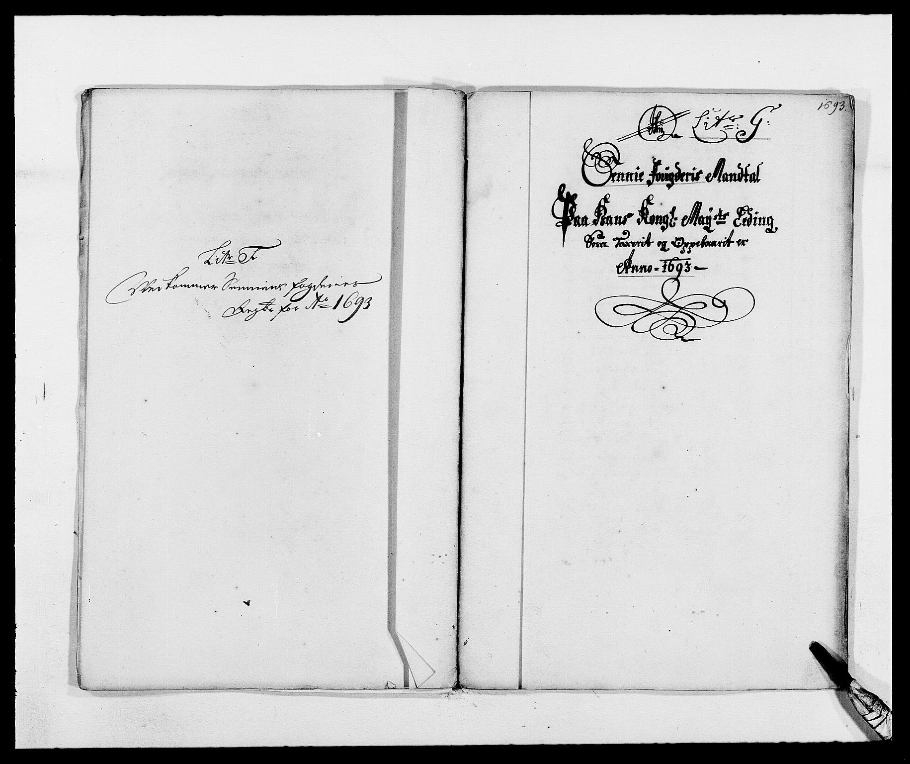 RA, Rentekammeret inntil 1814, Reviderte regnskaper, Fogderegnskap, R68/L4752: Fogderegnskap Senja og Troms, 1691-1693, s. 390