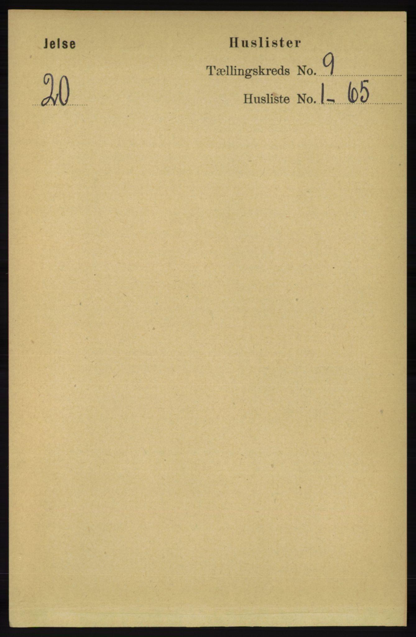 RA, Folketelling 1891 for 1138 Jelsa herred, 1891, s. 2002