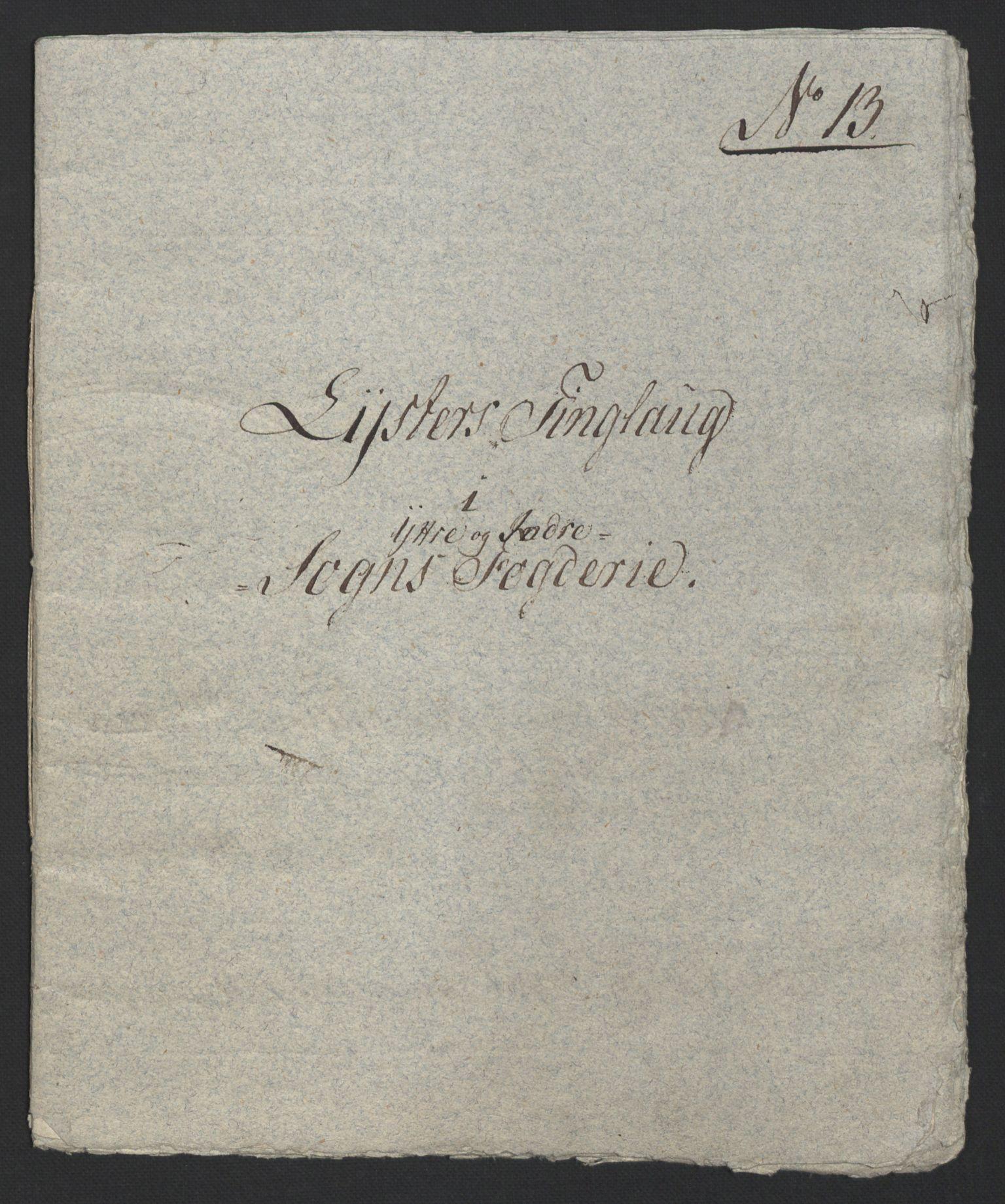 NOBA, Norges Bank/Sølvskatten 1816*, 1816-1822, s. 12