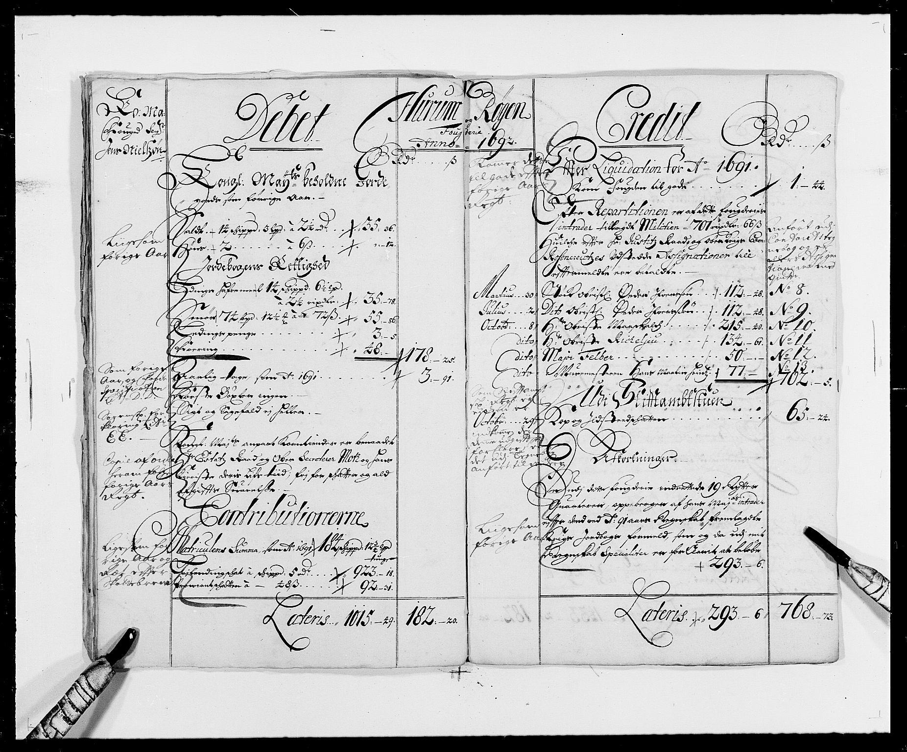 RA, Rentekammeret inntil 1814, Reviderte regnskaper, Fogderegnskap, R29/L1693: Fogderegnskap Hurum og Røyken, 1688-1693, s. 14