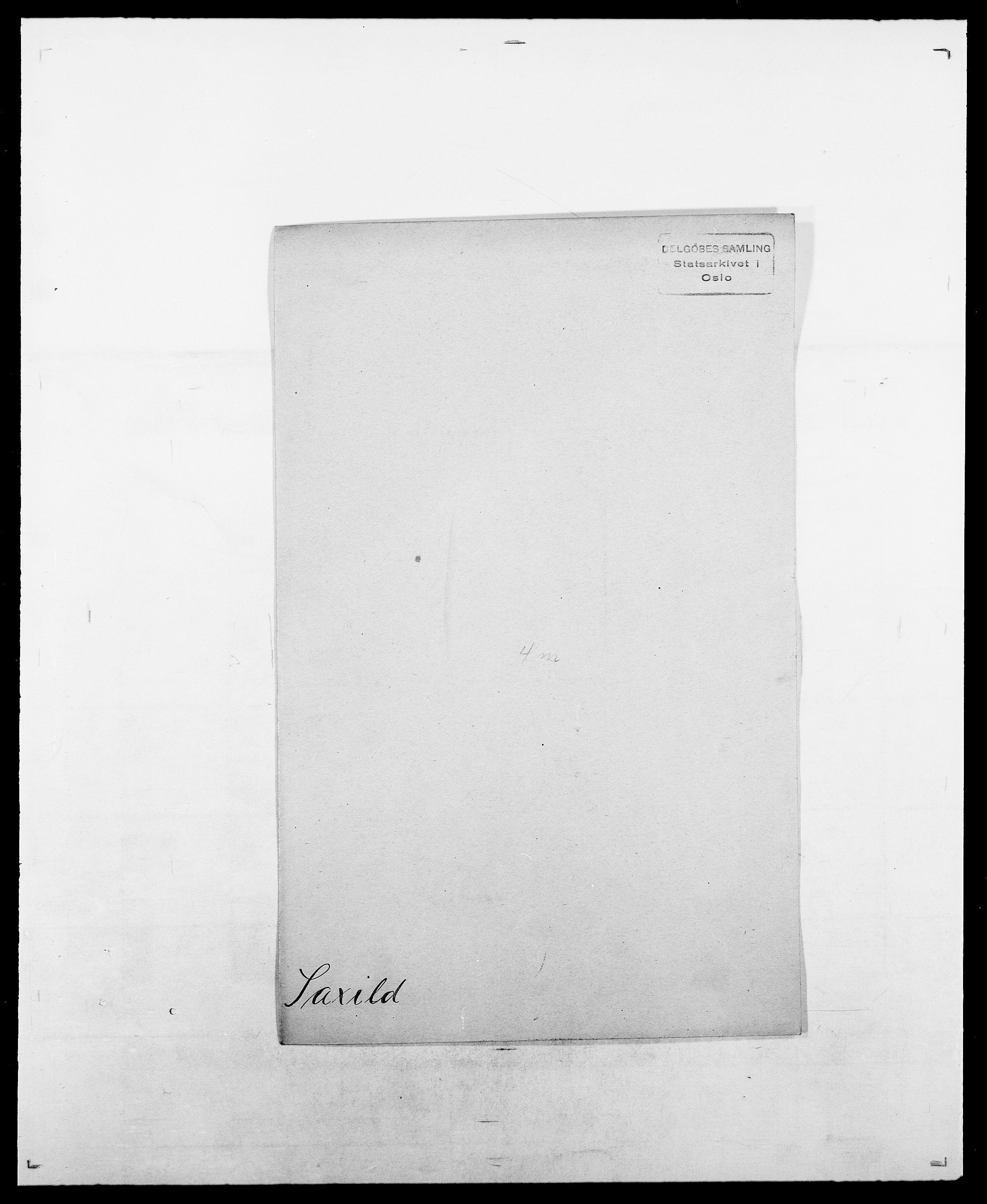 SAO, Delgobe, Charles Antoine - samling, D/Da/L0034: Saabye - Schmincke, s. 236