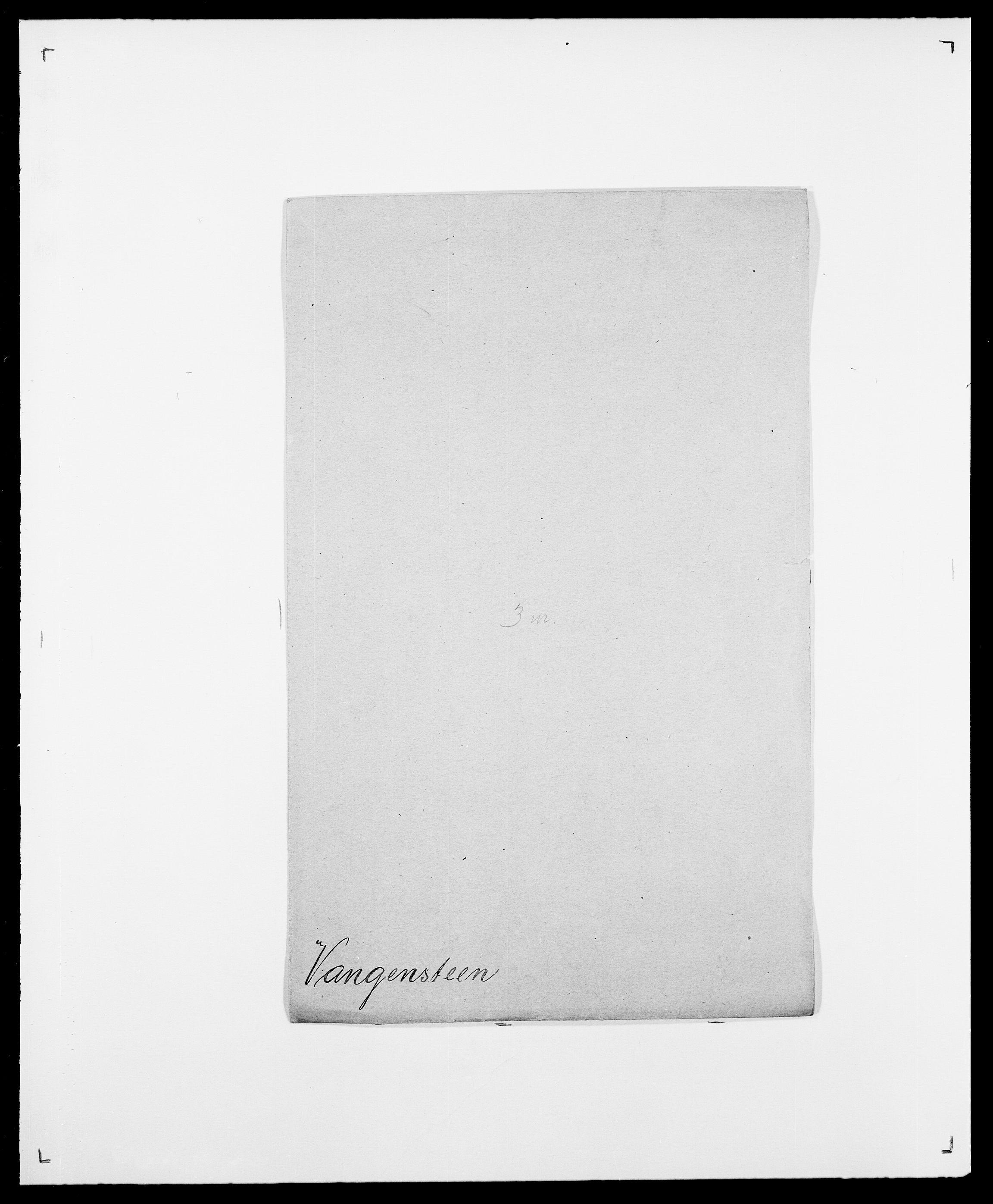 SAO, Delgobe, Charles Antoine - samling, D/Da/L0040: Usgaard - Velund, s. 301