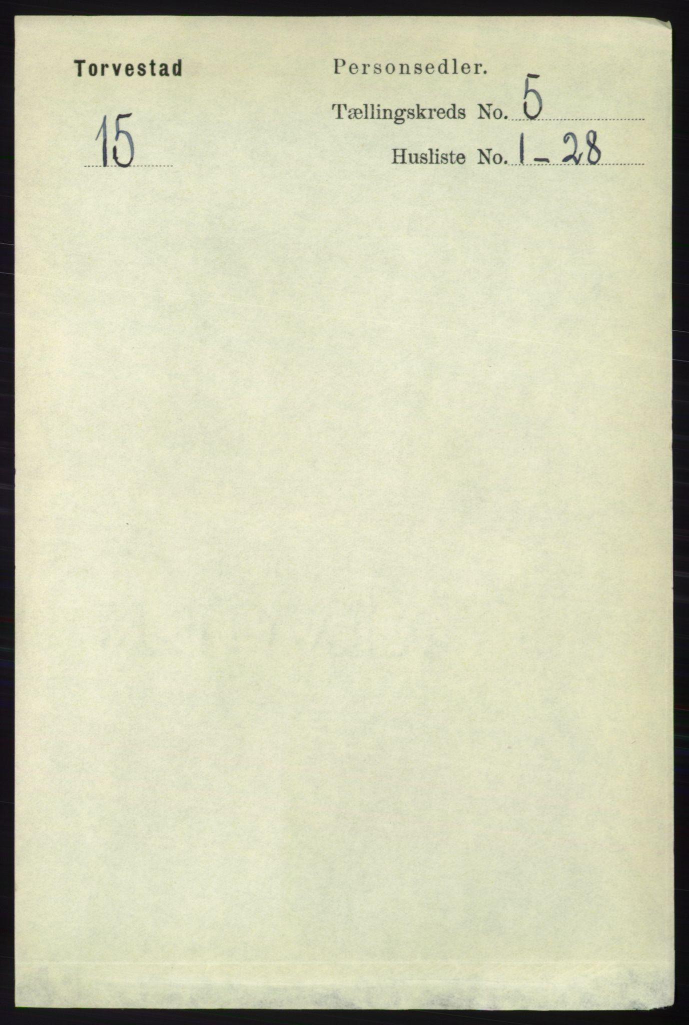 RA, Folketelling 1891 for 1152 Torvastad herred, 1891, s. 1755