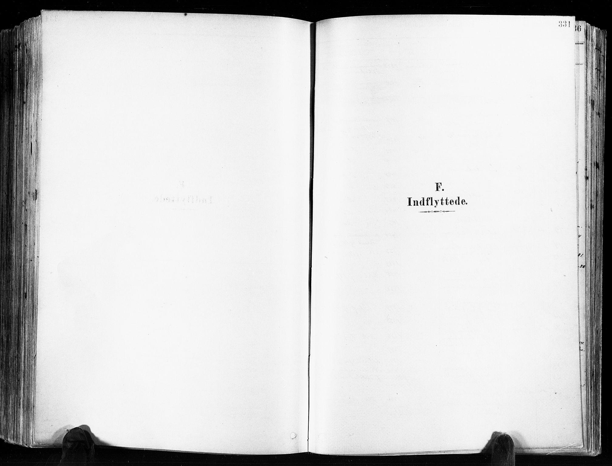 SAKO, Skien kirkebøker, F/Fa/L0009: Ministerialbok nr. 9, 1878-1890, s. 331