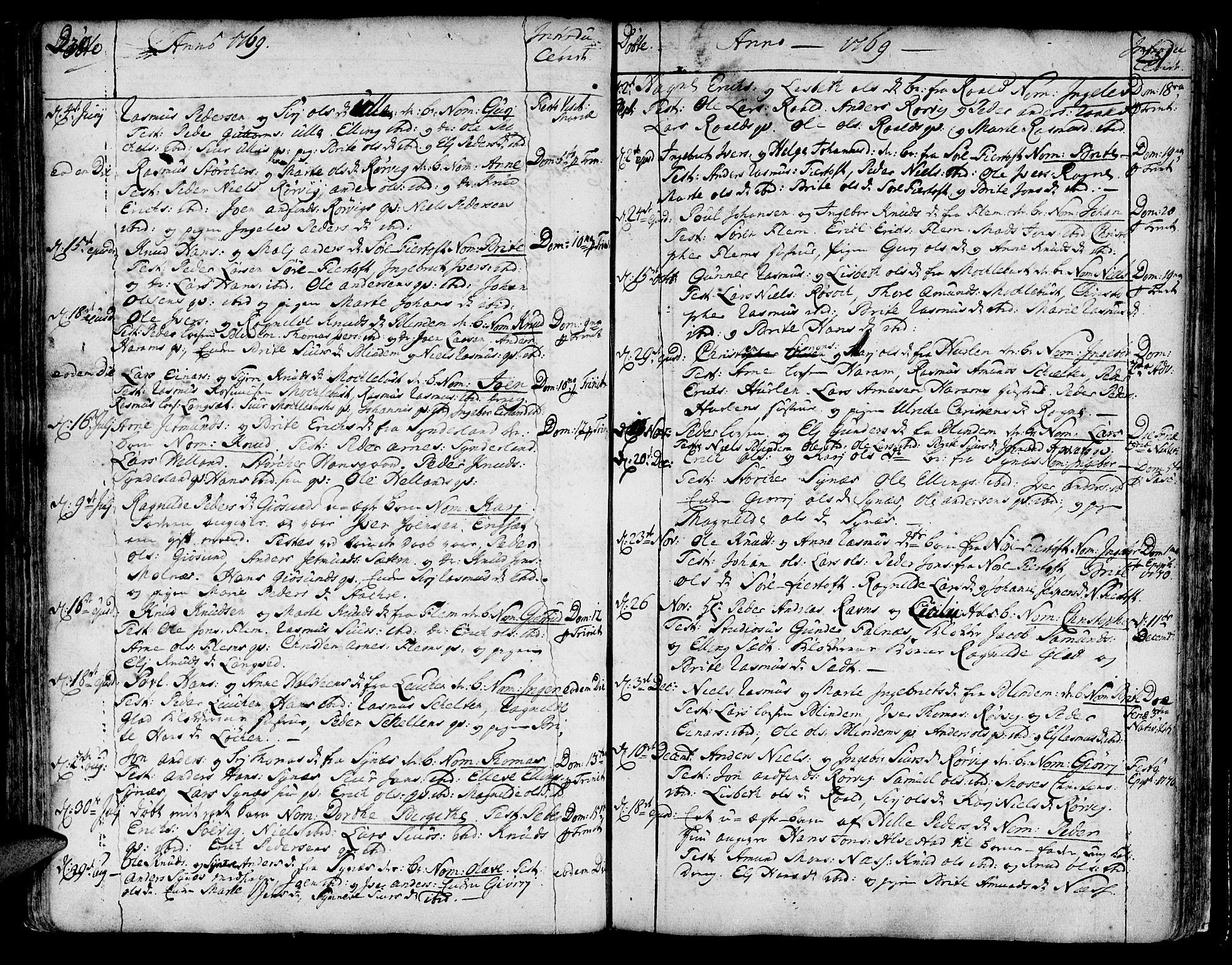 SAT, Ministerialprotokoller, klokkerbøker og fødselsregistre - Møre og Romsdal, 536/L0493: Ministerialbok nr. 536A02, 1739-1802, s. 230-231