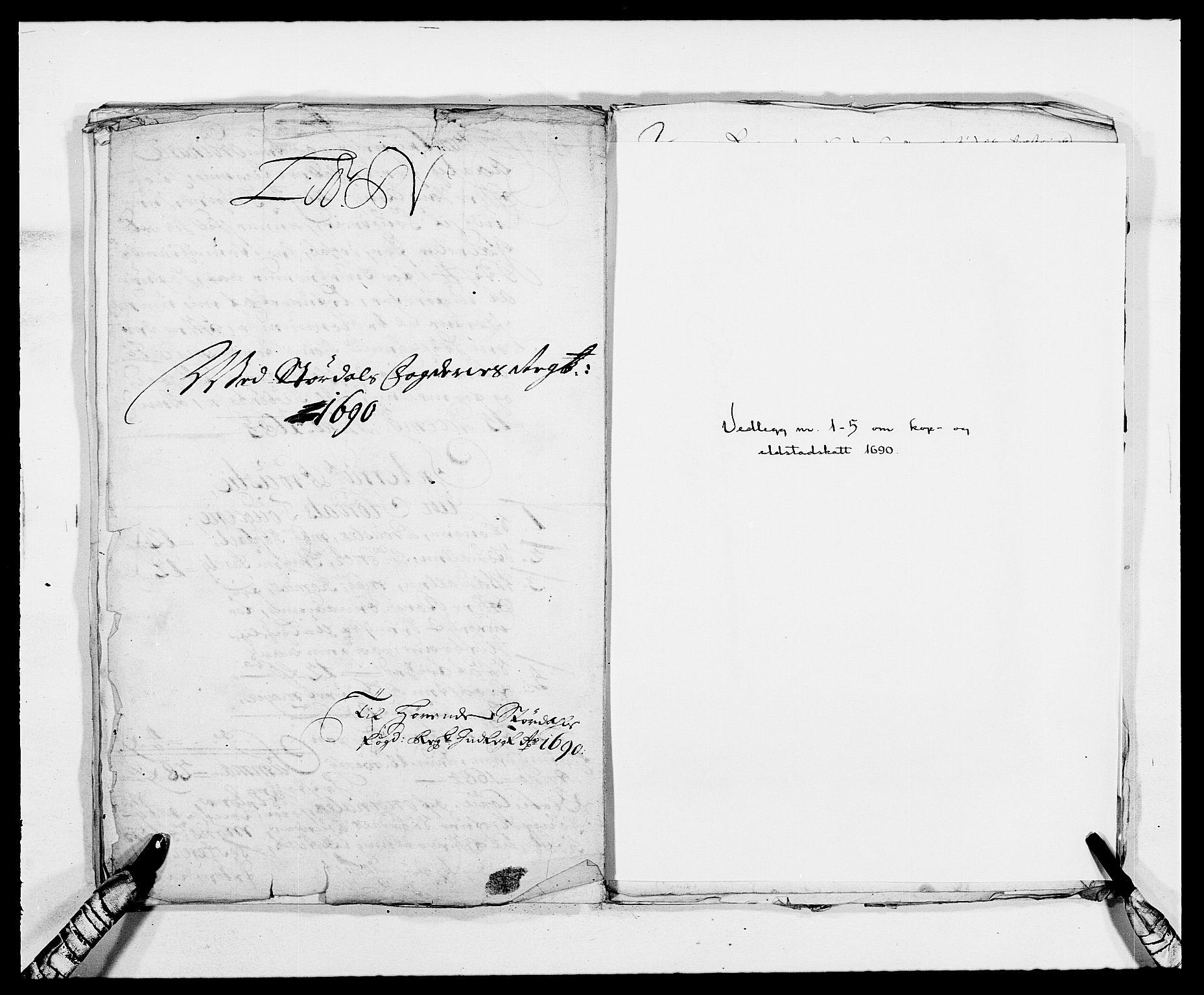 RA, Rentekammeret inntil 1814, Reviderte regnskaper, Fogderegnskap, R62/L4184: Fogderegnskap Stjørdal og Verdal, 1690-1691, s. 179