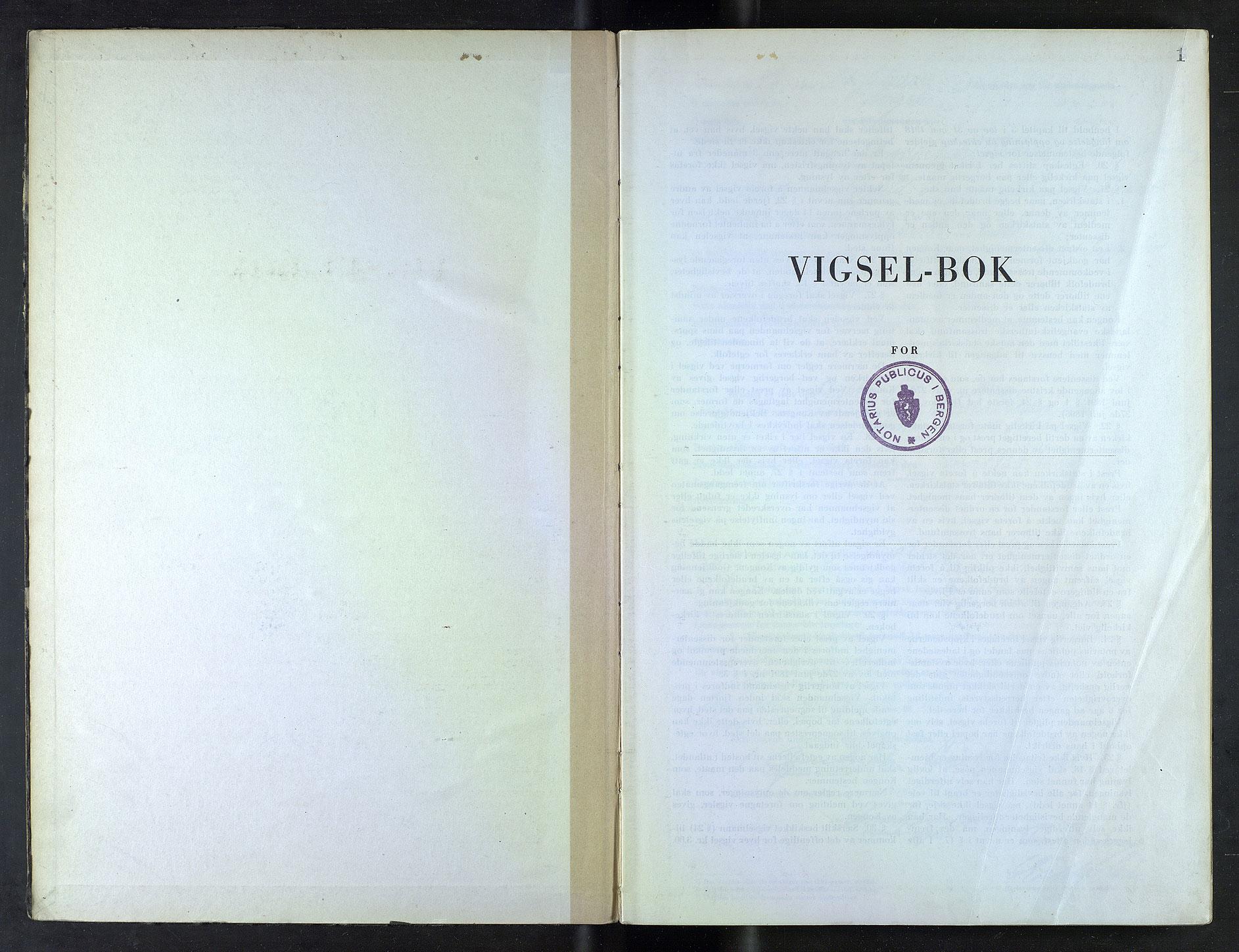 SAB, Bergen byfogd og byskriver*, 1948, s. 1