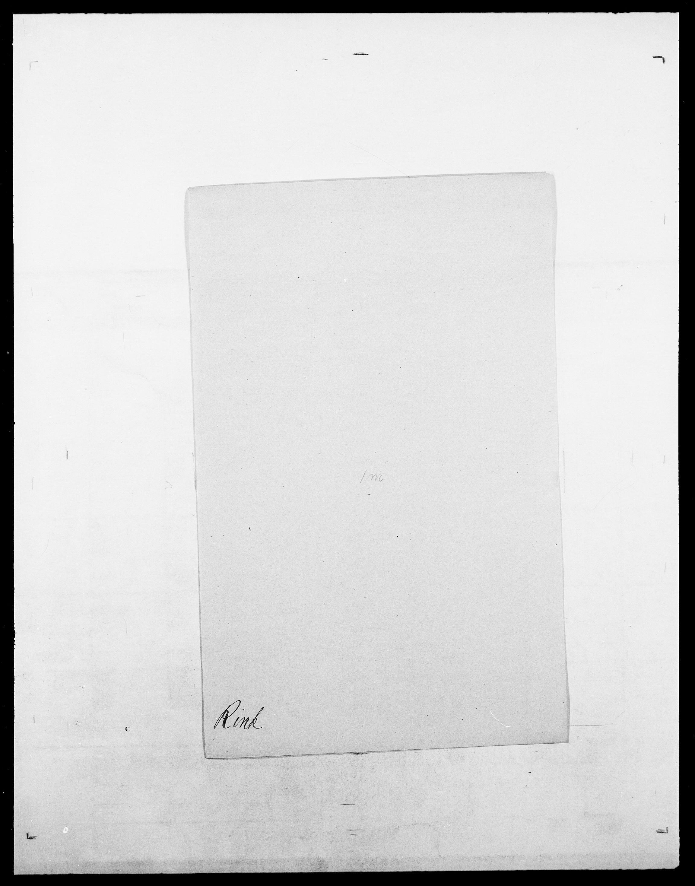 SAO, Delgobe, Charles Antoine - samling, D/Da/L0032: Rabakovsky - Rivertz, s. 743
