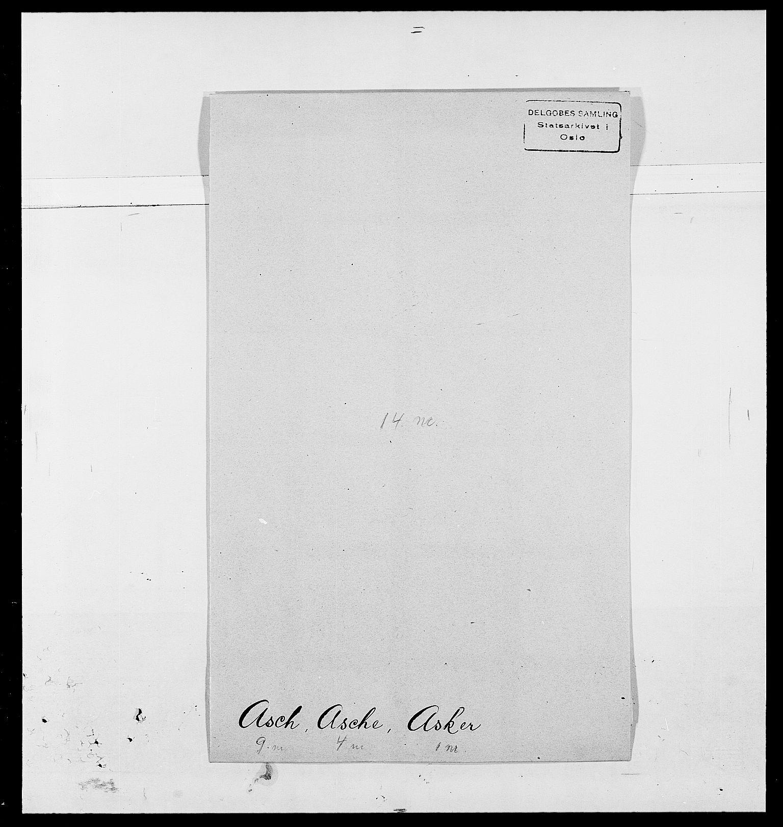 SAO, Delgobe, Charles Antoine - samling, D/Da/L0002: Anker, Ancher - Bauner, s. 401