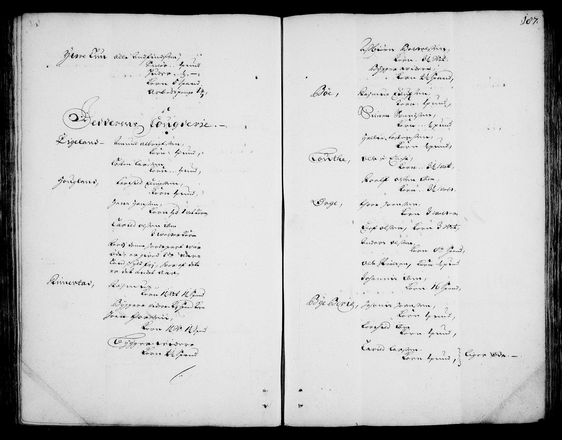 RA, Rentekammeret inntil 1814, Realistisk ordnet avdeling, On/L0002: [Jj 3]: Besiktigelsesforretninger over Halsnøy klosters gods, 1659-1703, s. 186b-187a