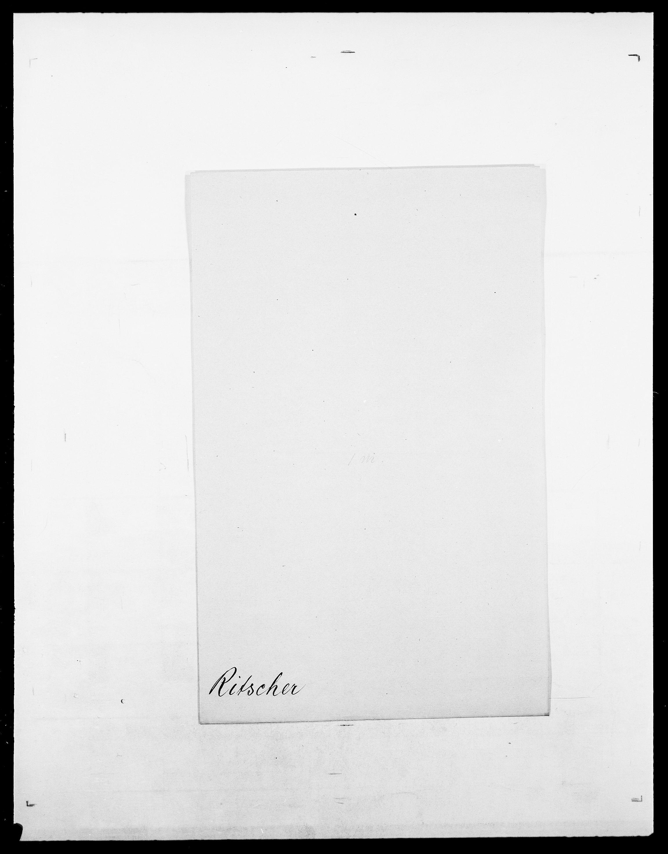 SAO, Delgobe, Charles Antoine - samling, D/Da/L0032: Rabakovsky - Rivertz, s. 818