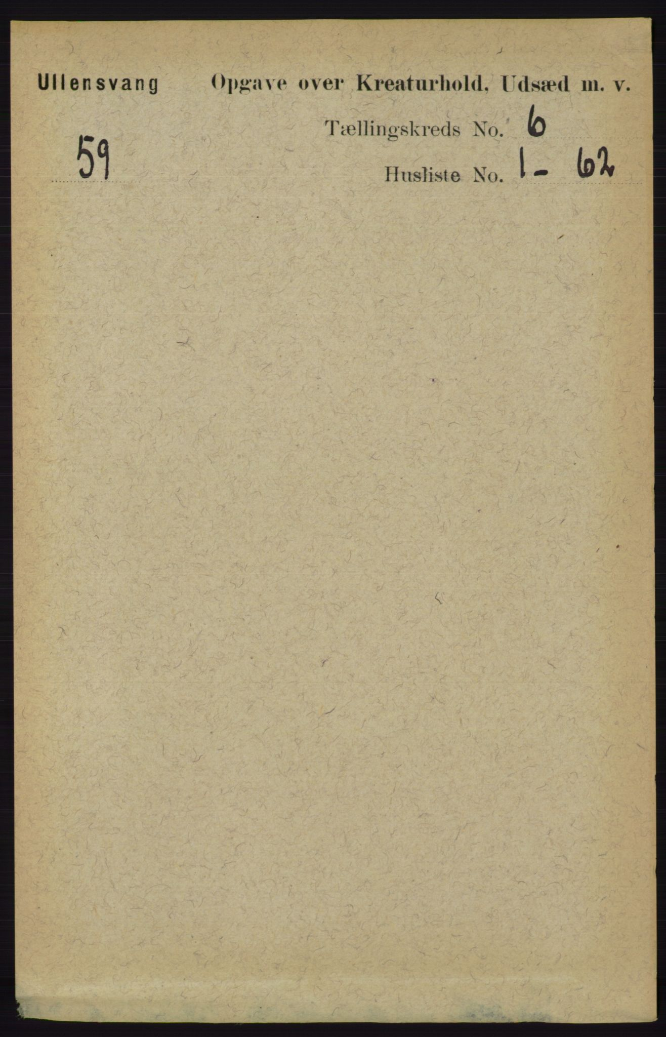 RA, Folketelling 1891 for 1230 Ullensvang herred, 1891, s. 7207
