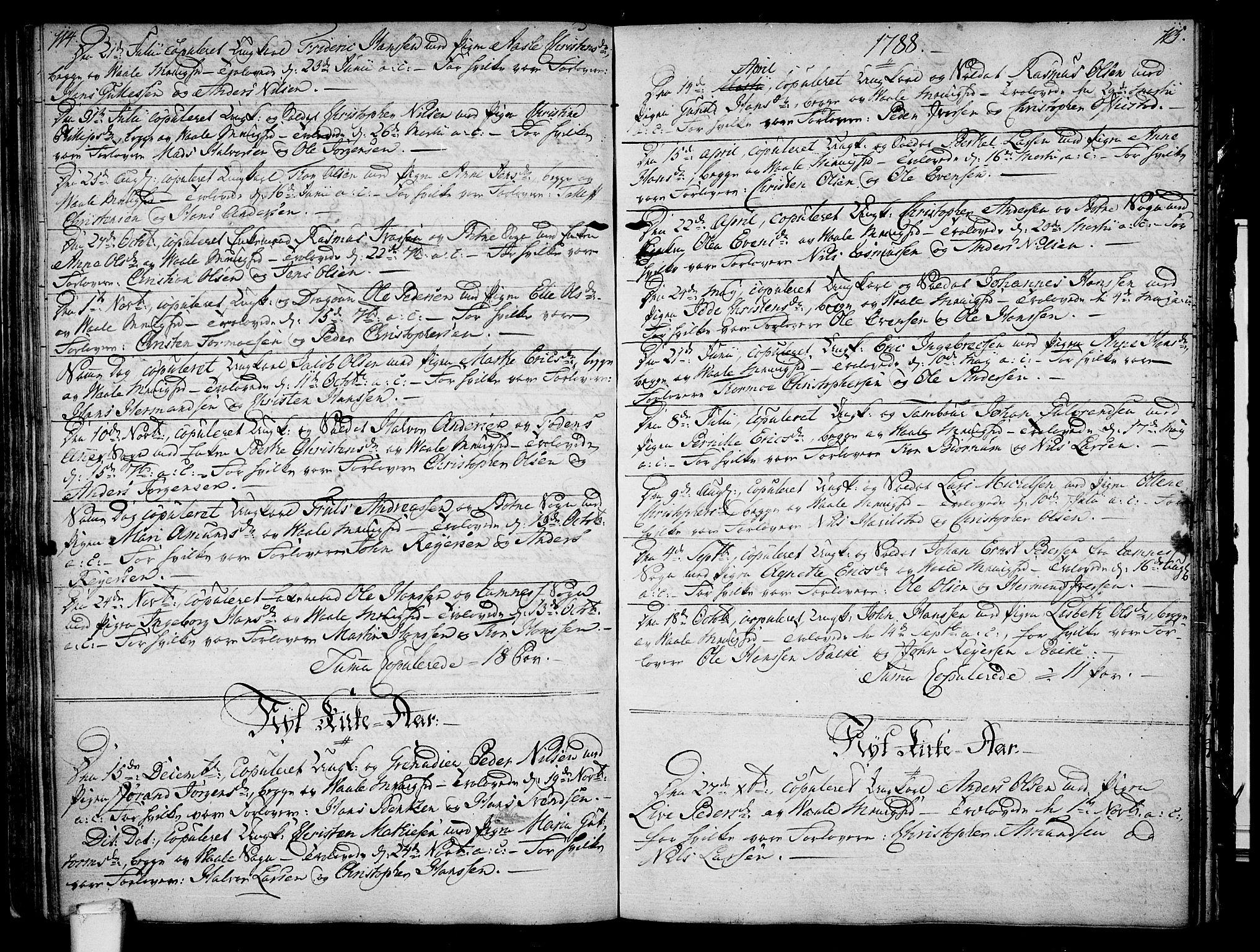 SAKO, Våle kirkebøker, F/Fa/L0005: Ministerialbok nr. I 5, 1773-1808, s. 114-115