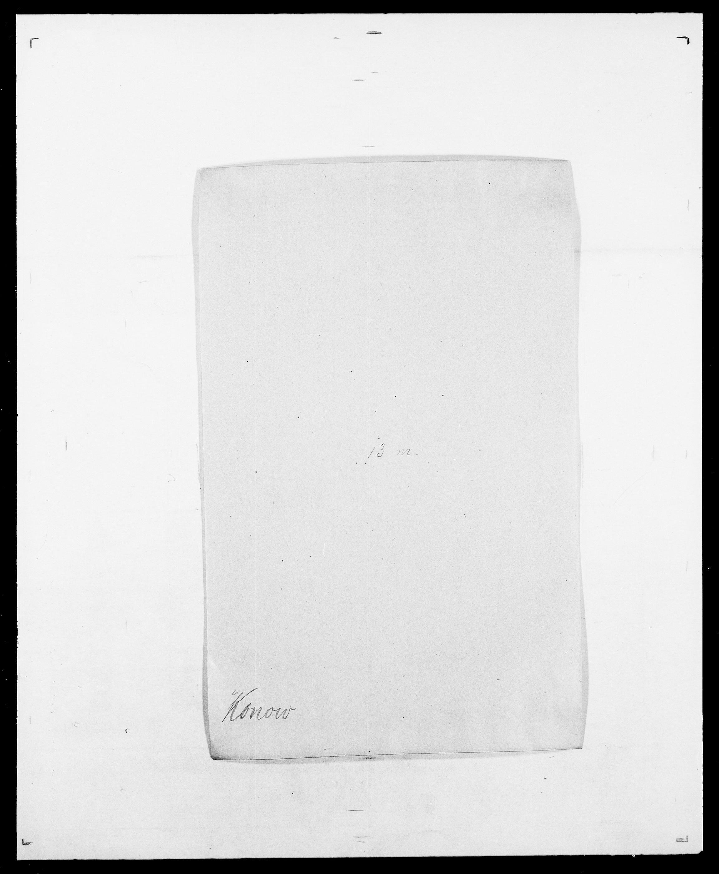 SAO, Delgobe, Charles Antoine - samling, D/Da/L0021: Klagenberg - Kristoft, s. 525