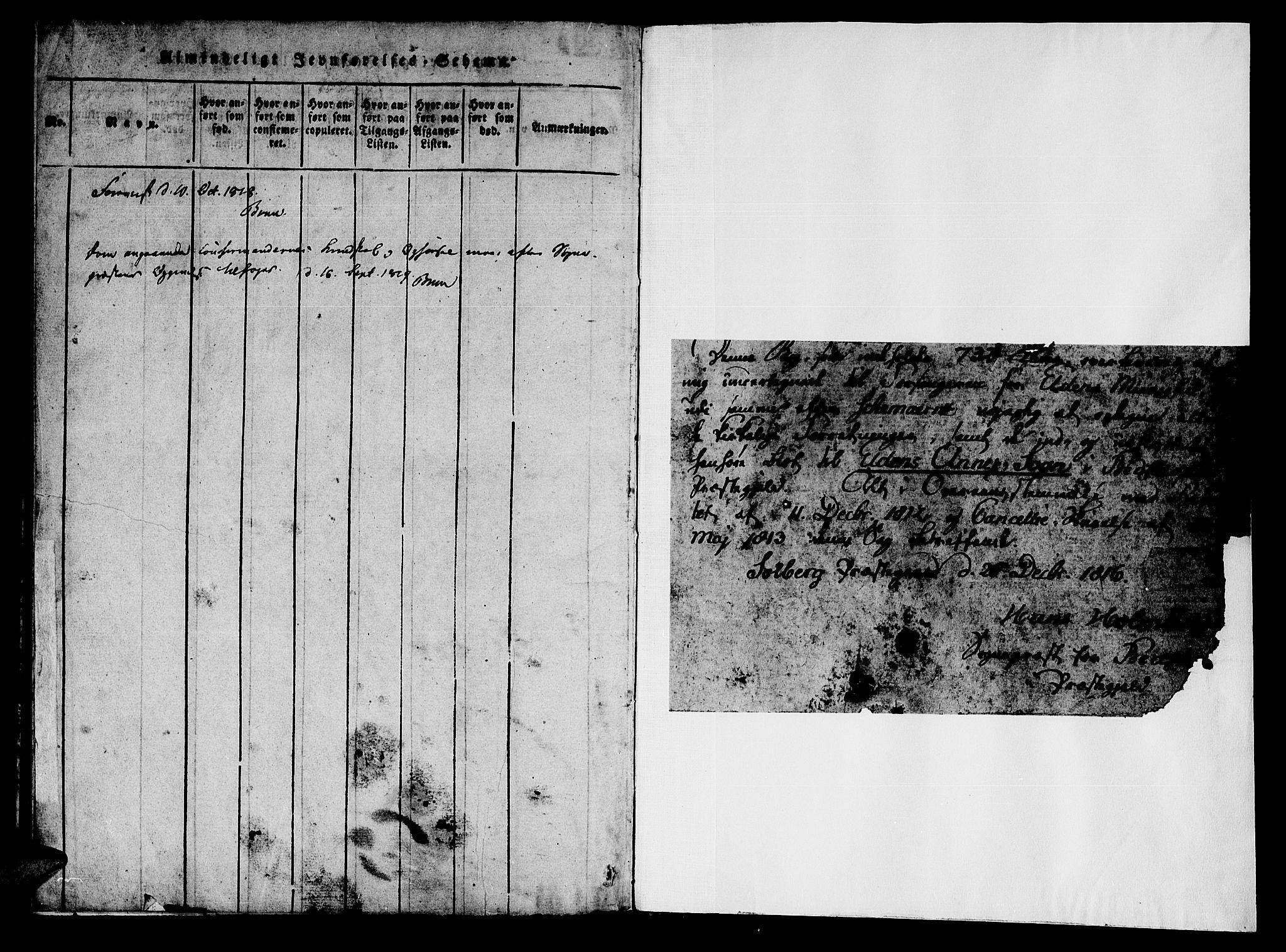 SAT, Ministerialprotokoller, klokkerbøker og fødselsregistre - Nord-Trøndelag, 742/L0411: Klokkerbok nr. 742C02, 1817-1825