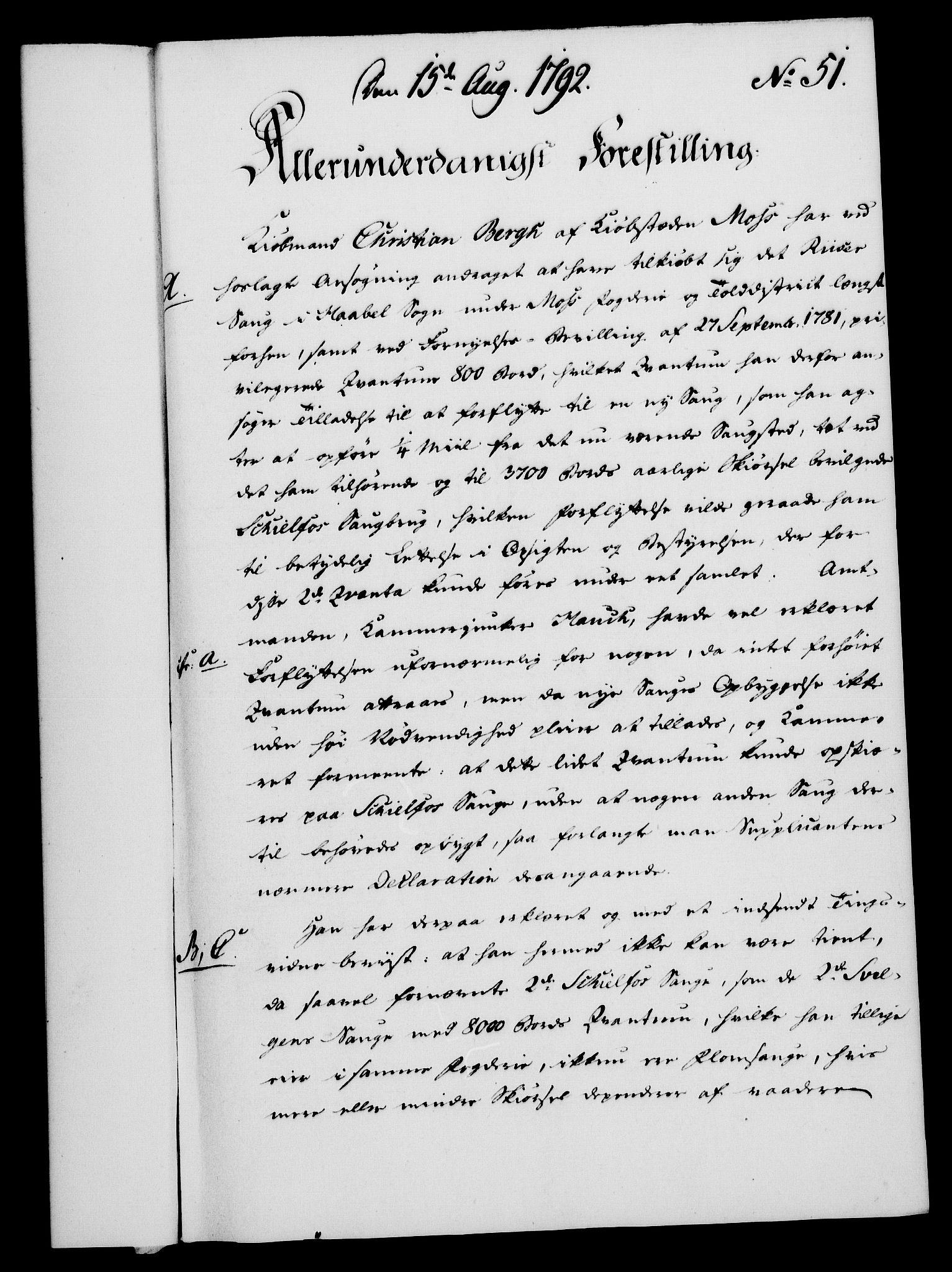 RA, Rentekammeret, Kammerkanselliet, G/Gf/Gfa/L0074: Norsk relasjons- og resolusjonsprotokoll (merket RK 52.74), 1792, s. 308
