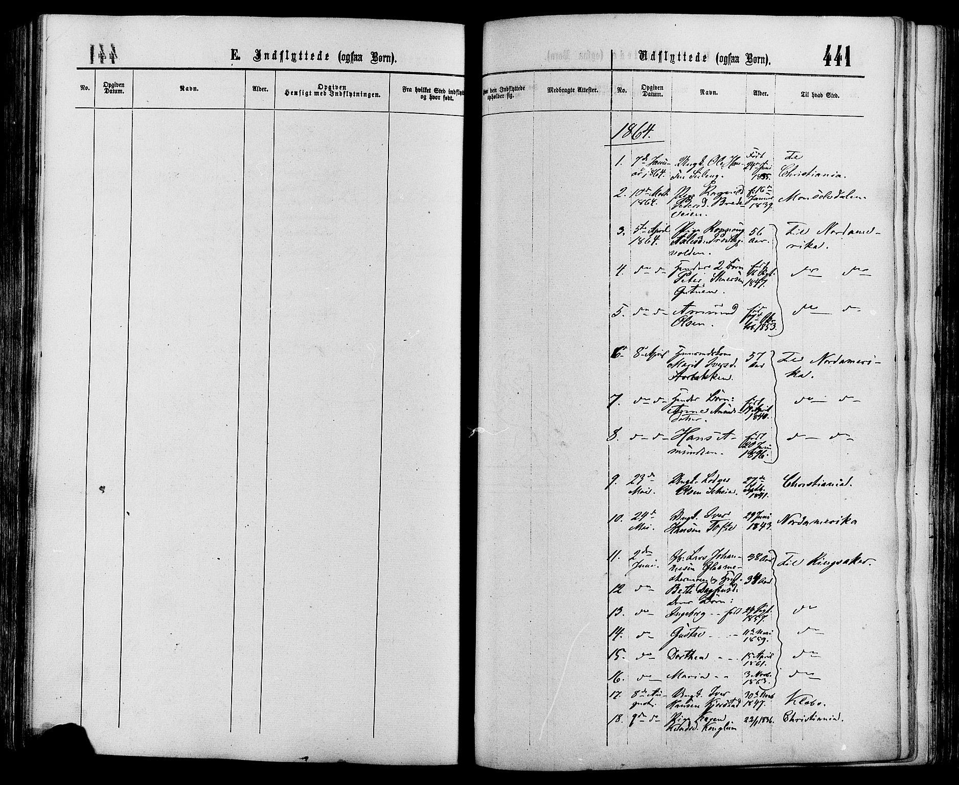 SAH, Sør-Fron prestekontor, H/Ha/Haa/L0002: Ministerialbok nr. 2, 1864-1880, s. 441