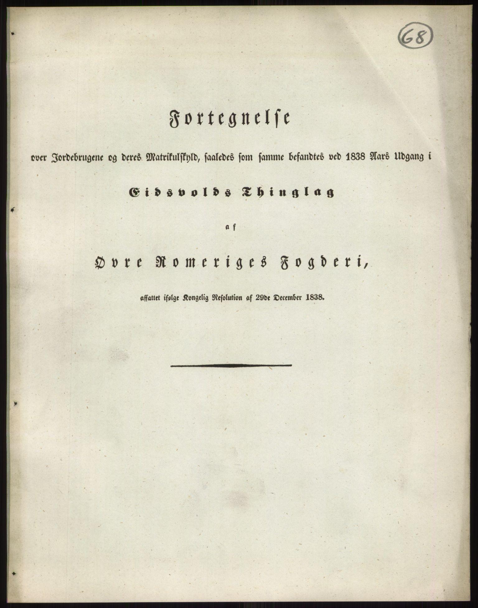 RA, 1838-matrikkelen (publikasjon)*, 1838, s. 68