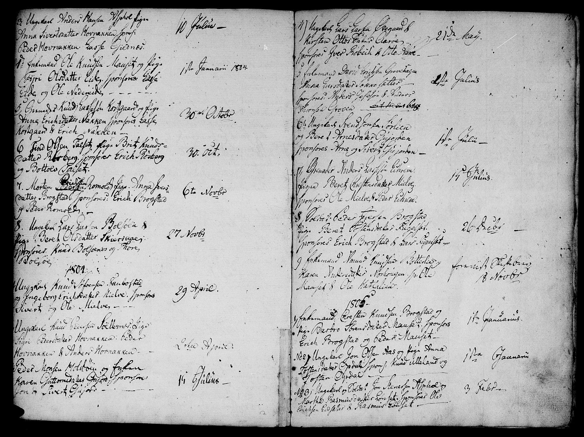 SAT, Ministerialprotokoller, klokkerbøker og fødselsregistre - Møre og Romsdal, 555/L0650: Ministerialbok nr. 555A02 /2, 1798-1821, s. 137