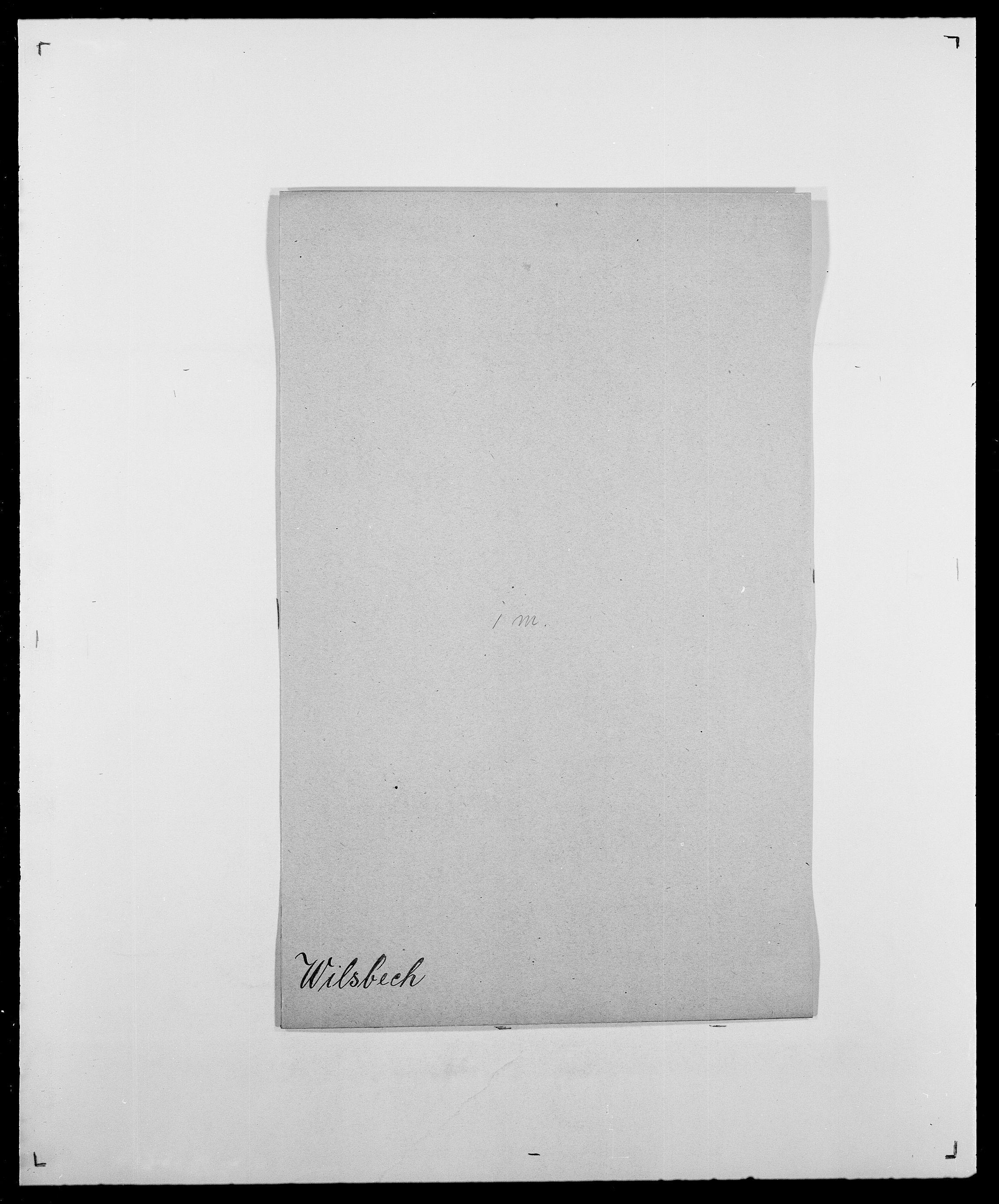 SAO, Delgobe, Charles Antoine - samling, D/Da/L0042: Vilain - Wulf, Wulff, se også Wolf, s. 112