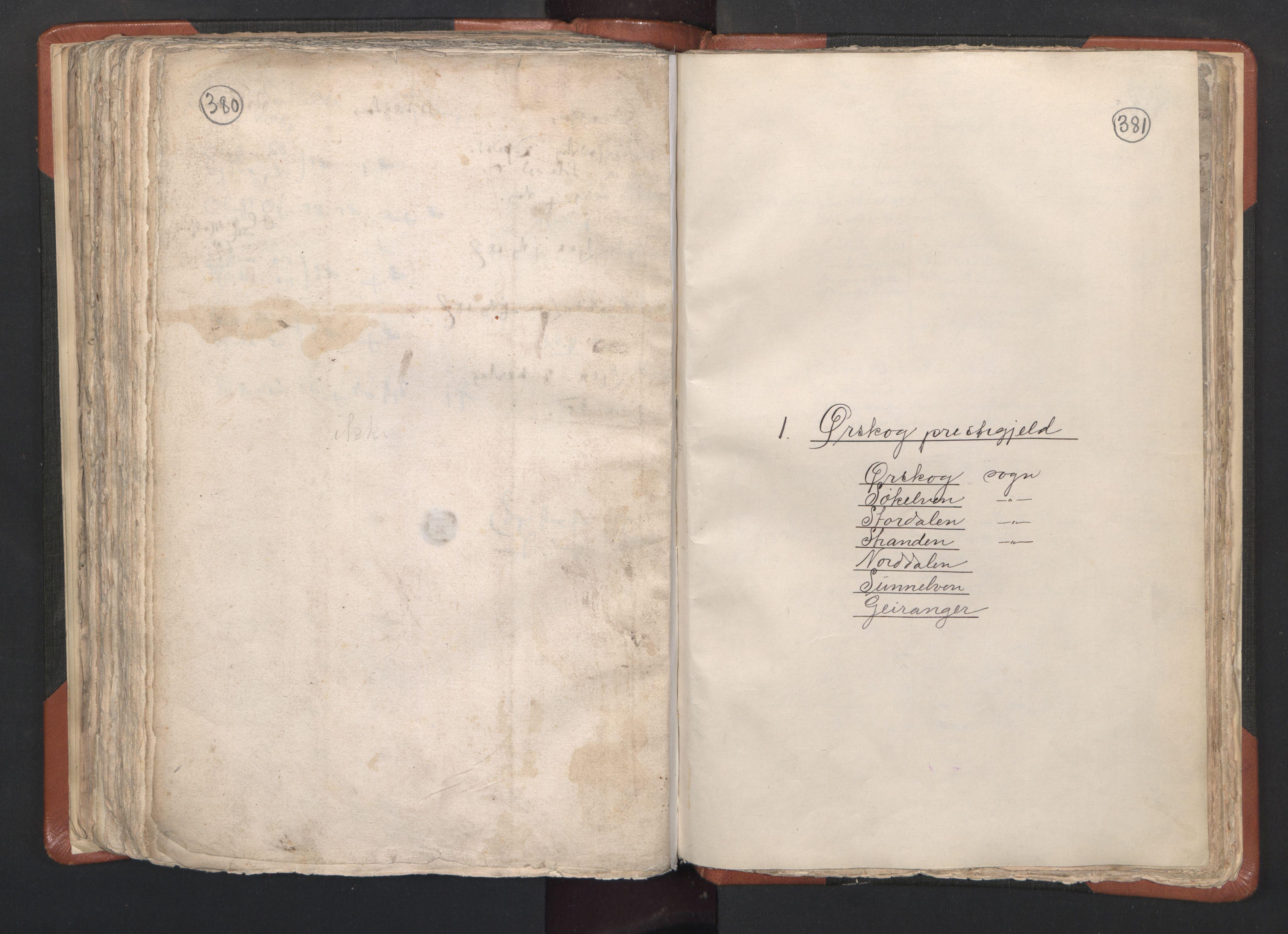 RA, Sogneprestenes manntall 1664-1666, nr. 26: Sunnmøre prosti, 1664-1666, s. 380-381