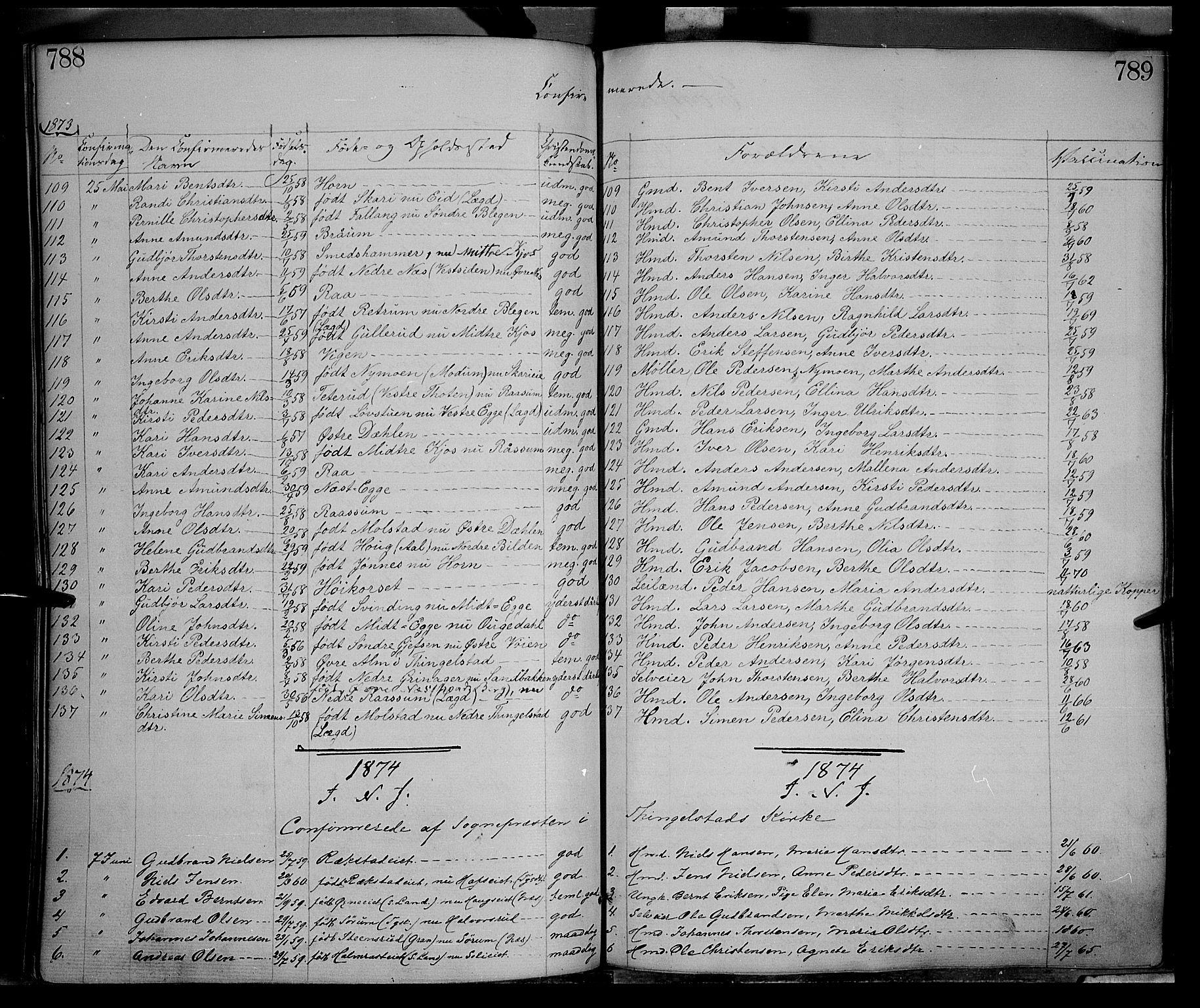 SAH, Gran prestekontor, Ministerialbok nr. 12, 1856-1874, s. 788-789