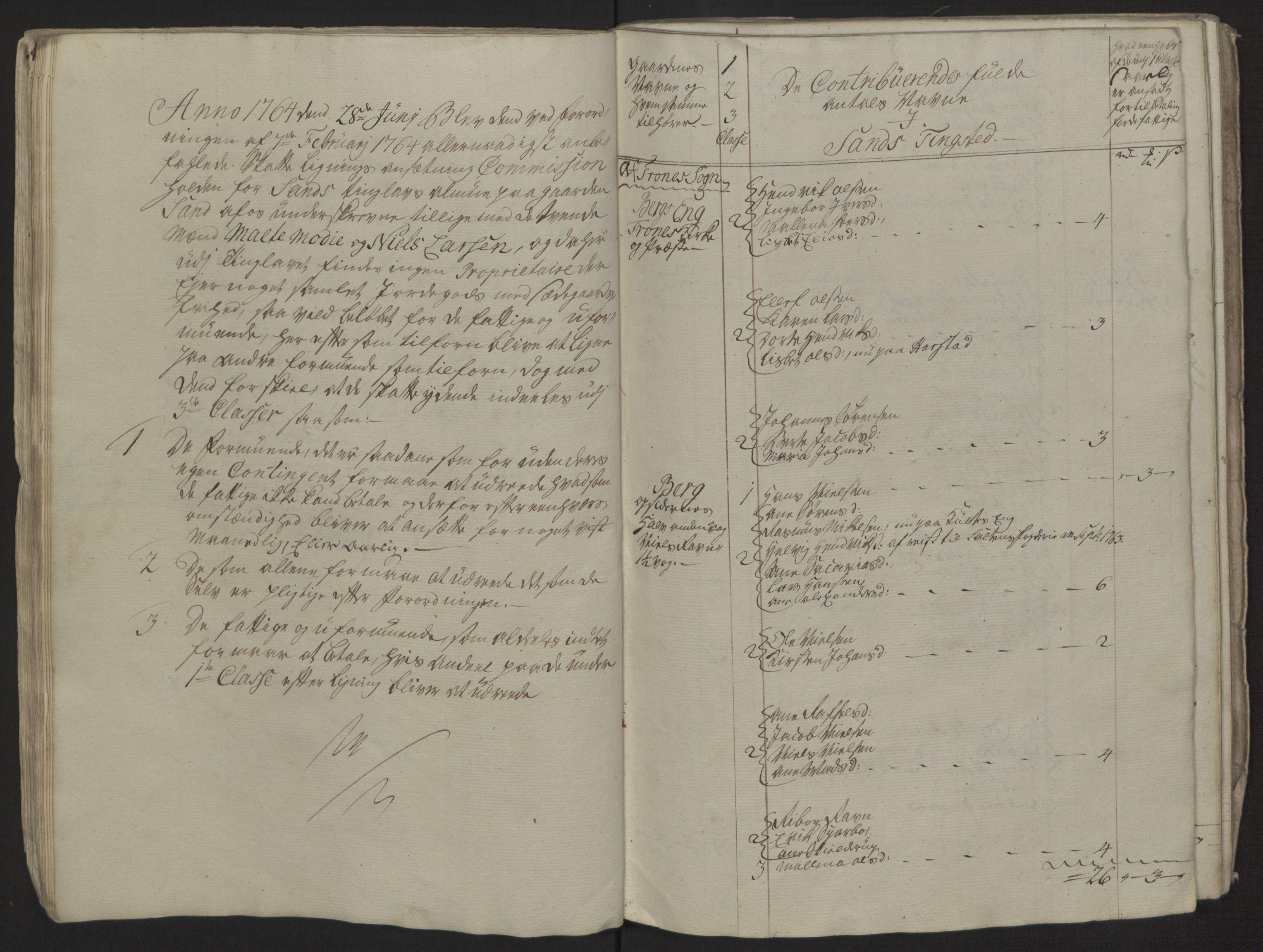 RA, Rentekammeret inntil 1814, Reviderte regnskaper, Fogderegnskap, R68/L4845: Ekstraskatten Senja og Troms, 1762-1765, s. 273