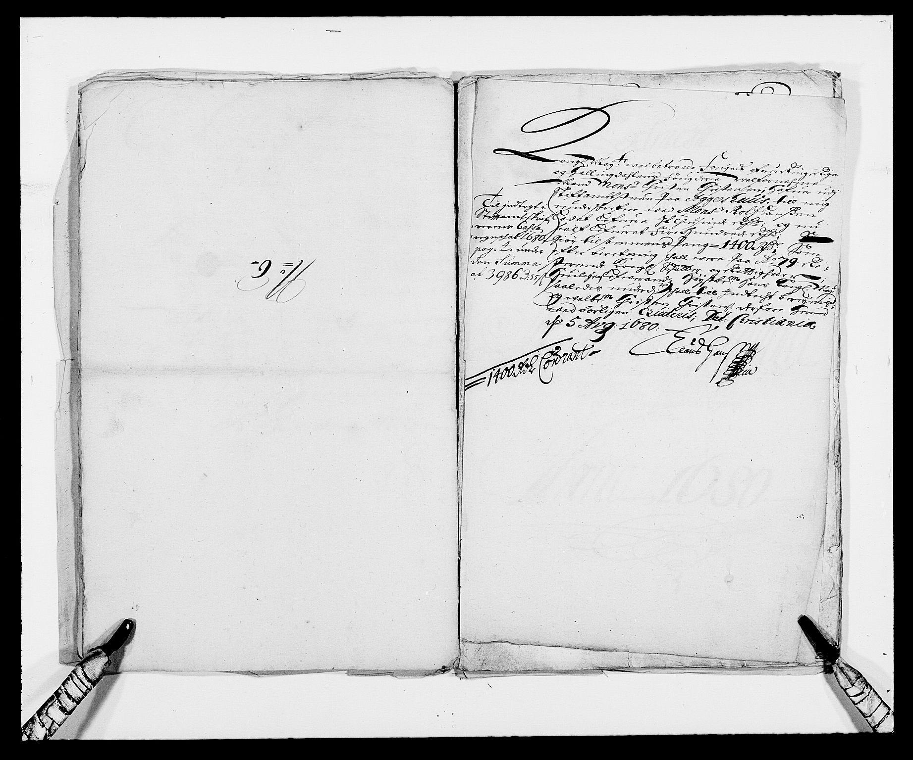 RA, Rentekammeret inntil 1814, Reviderte regnskaper, Fogderegnskap, R21/L1443: Fogderegnskap Ringerike og Hallingdal, 1678-1680, s. 384