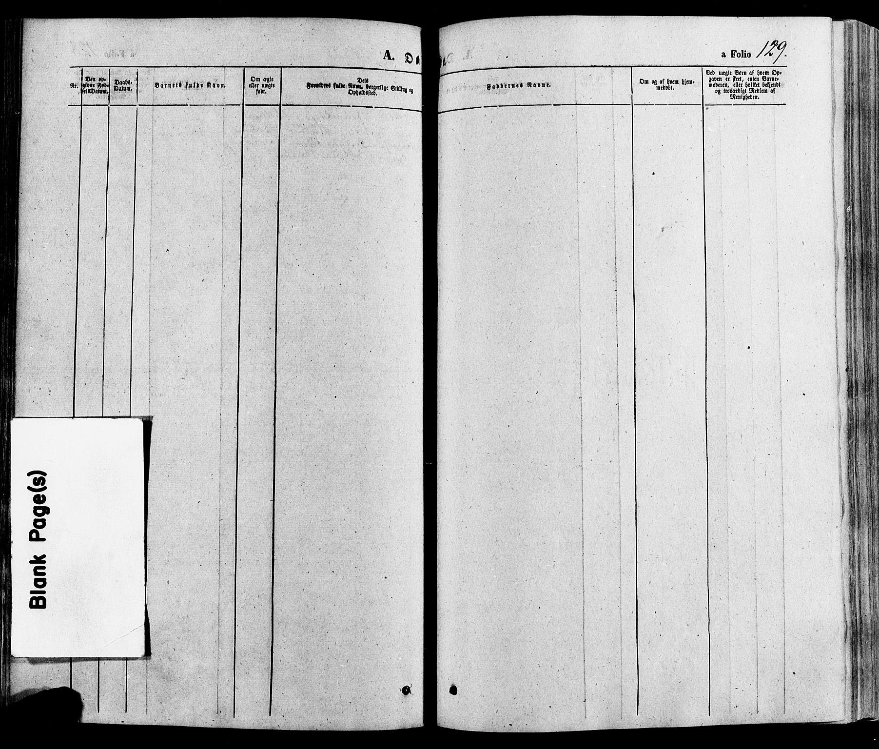 SAH, Gausdal prestekontor, Ministerialbok nr. 10, 1867-1886, s. 129