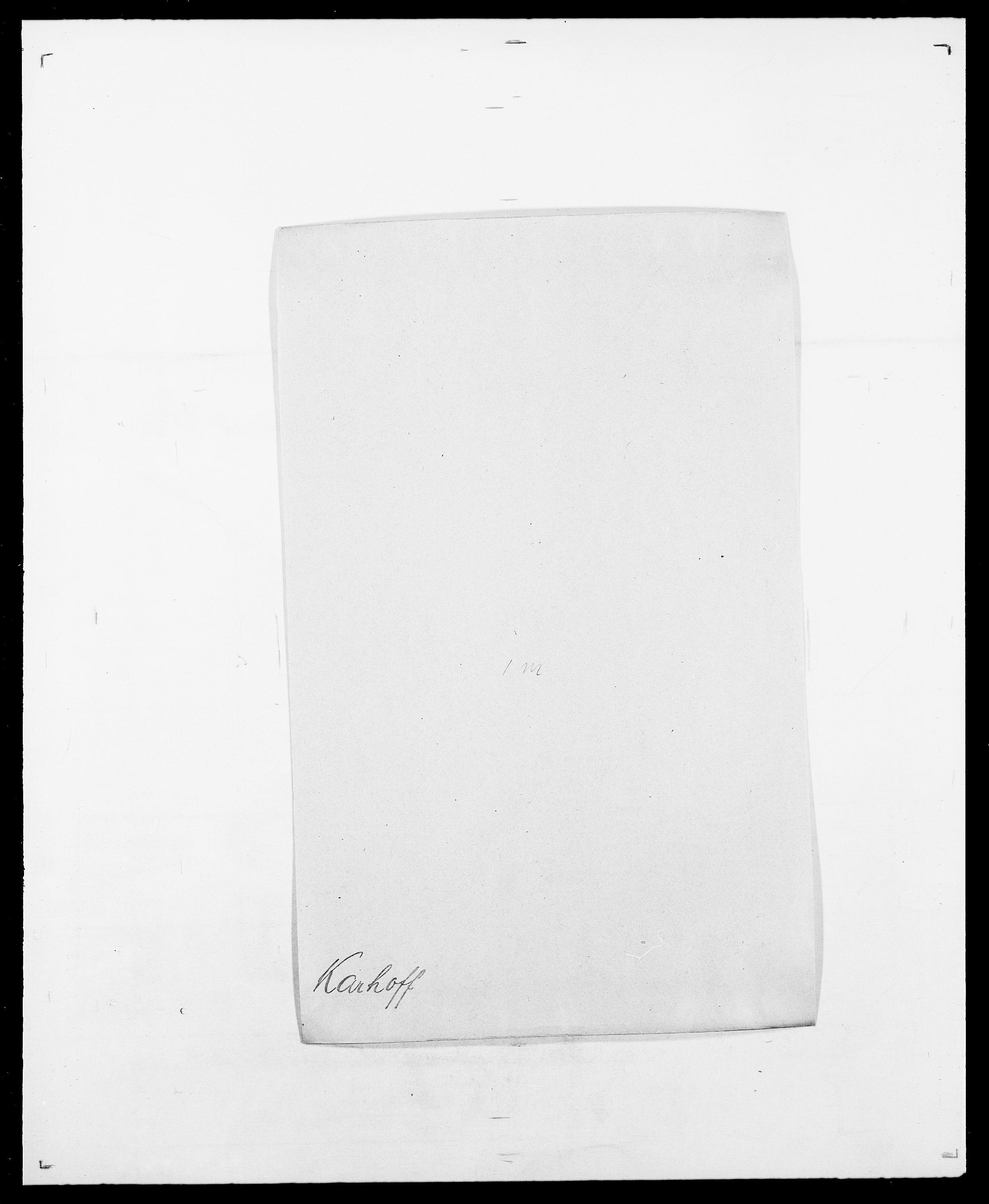 SAO, Delgobe, Charles Antoine - samling, D/Da/L0020: Irgens - Kjøsterud, s. 472