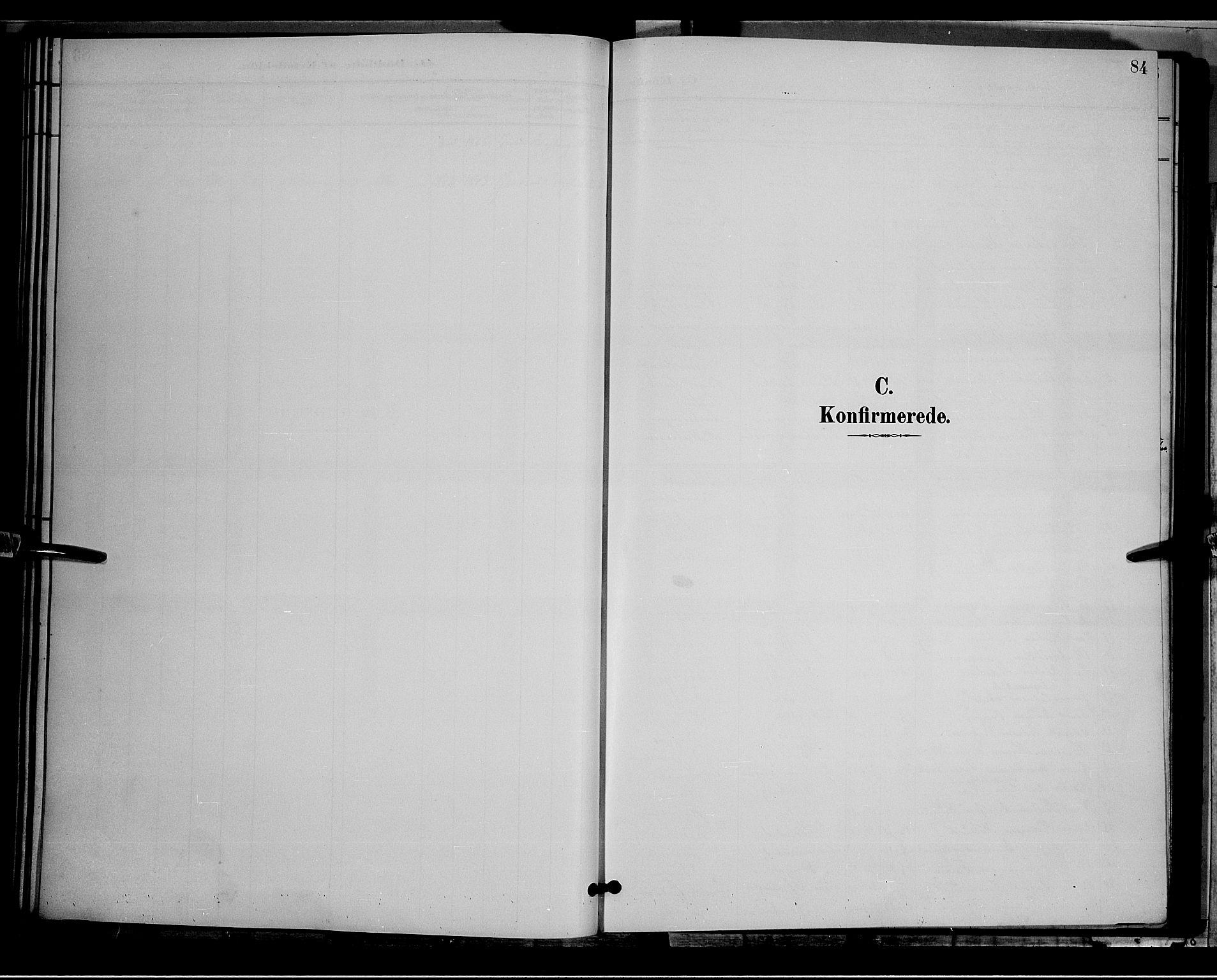 SAH, Østre Toten prestekontor, Klokkerbok nr. 6, 1893-1901, s. 84