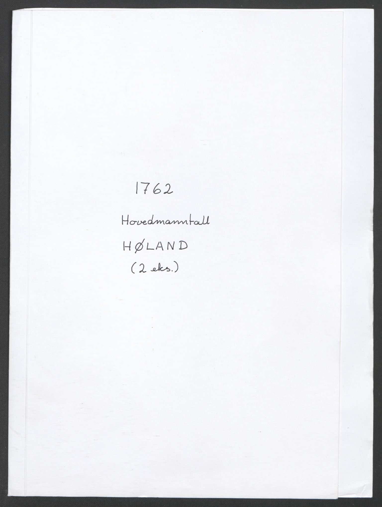 RA, Rentekammeret inntil 1814, Reviderte regnskaper, Fogderegnskap, R11/L0687: Ekstraskatten Nedre Romerike, 1762, s. 305