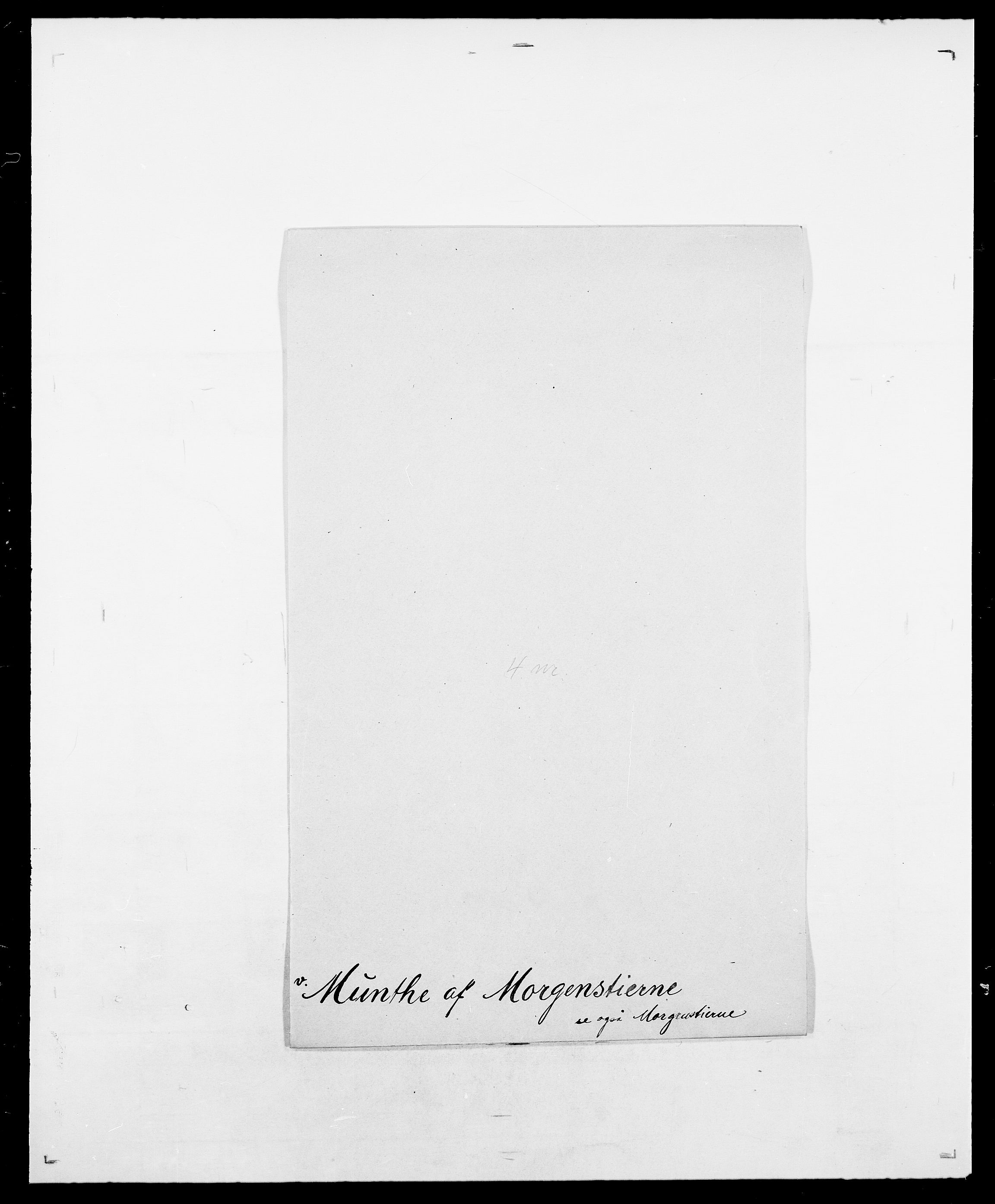SAO, Delgobe, Charles Antoine - samling, D/Da/L0027: Morath - v. Møsting, s. 263
