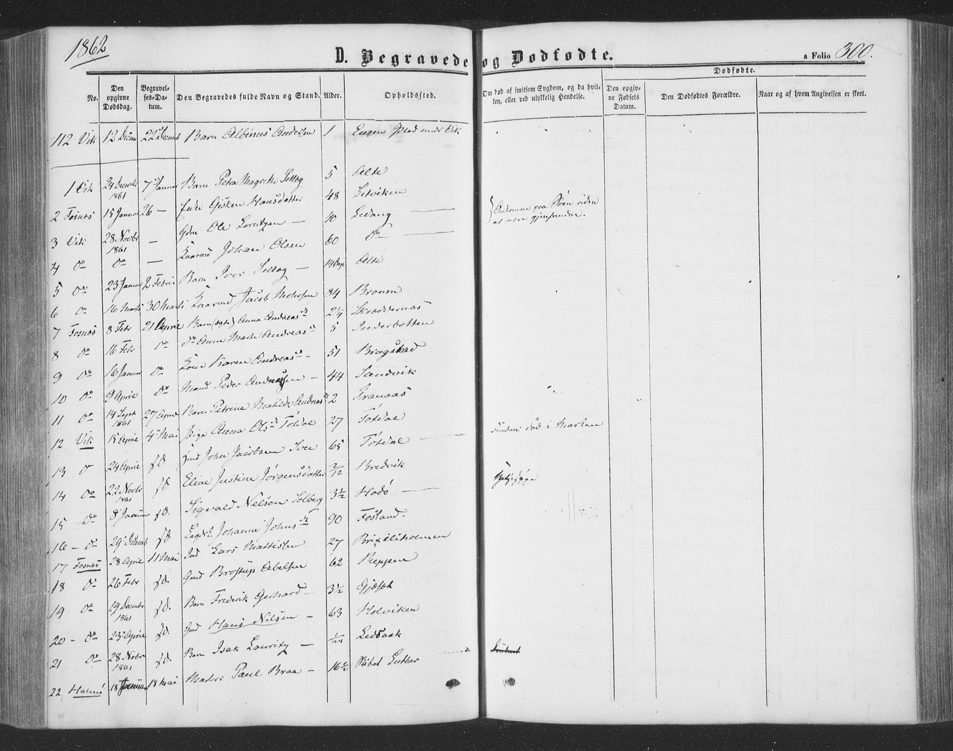 SAT, Ministerialprotokoller, klokkerbøker og fødselsregistre - Nord-Trøndelag, 773/L0615: Ministerialbok nr. 773A06, 1857-1870, s. 300