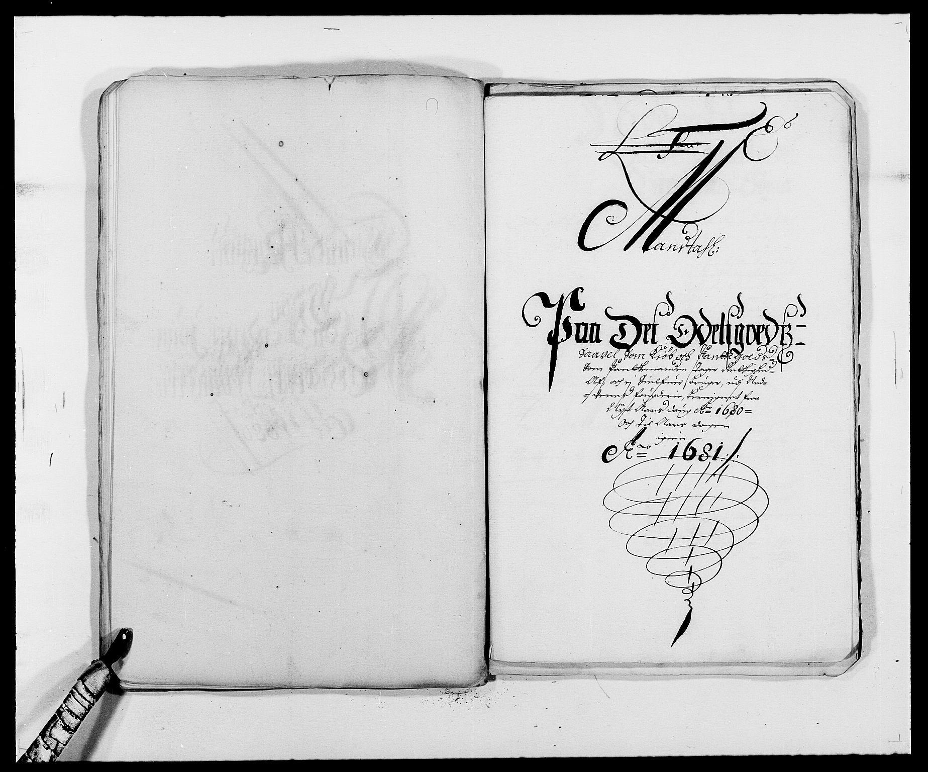 RA, Rentekammeret inntil 1814, Reviderte regnskaper, Fogderegnskap, R39/L2304: Fogderegnskap Nedenes, 1680-1682, s. 100