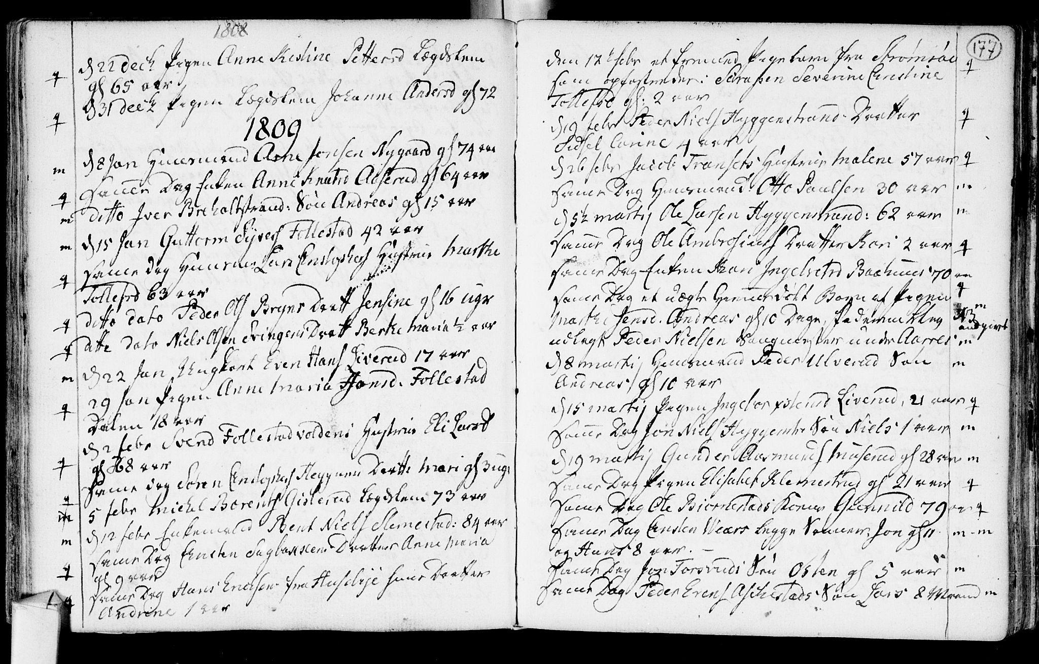 SAKO, Røyken kirkebøker, F/Fa/L0003: Ministerialbok nr. 3, 1782-1813, s. 177
