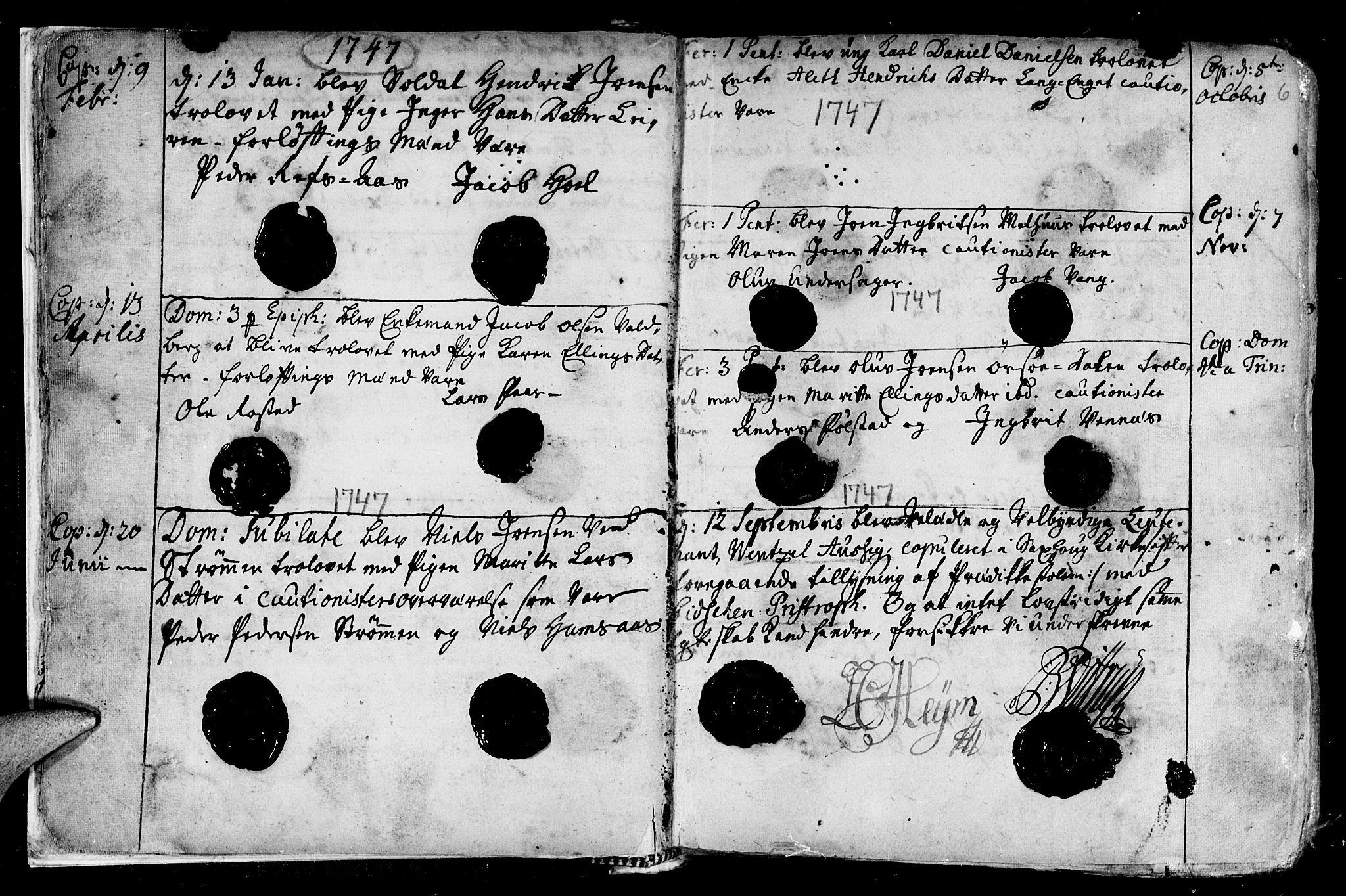 SAT, Ministerialprotokoller, klokkerbøker og fødselsregistre - Nord-Trøndelag, 730/L0272: Ministerialbok nr. 730A01, 1733-1764, s. 6
