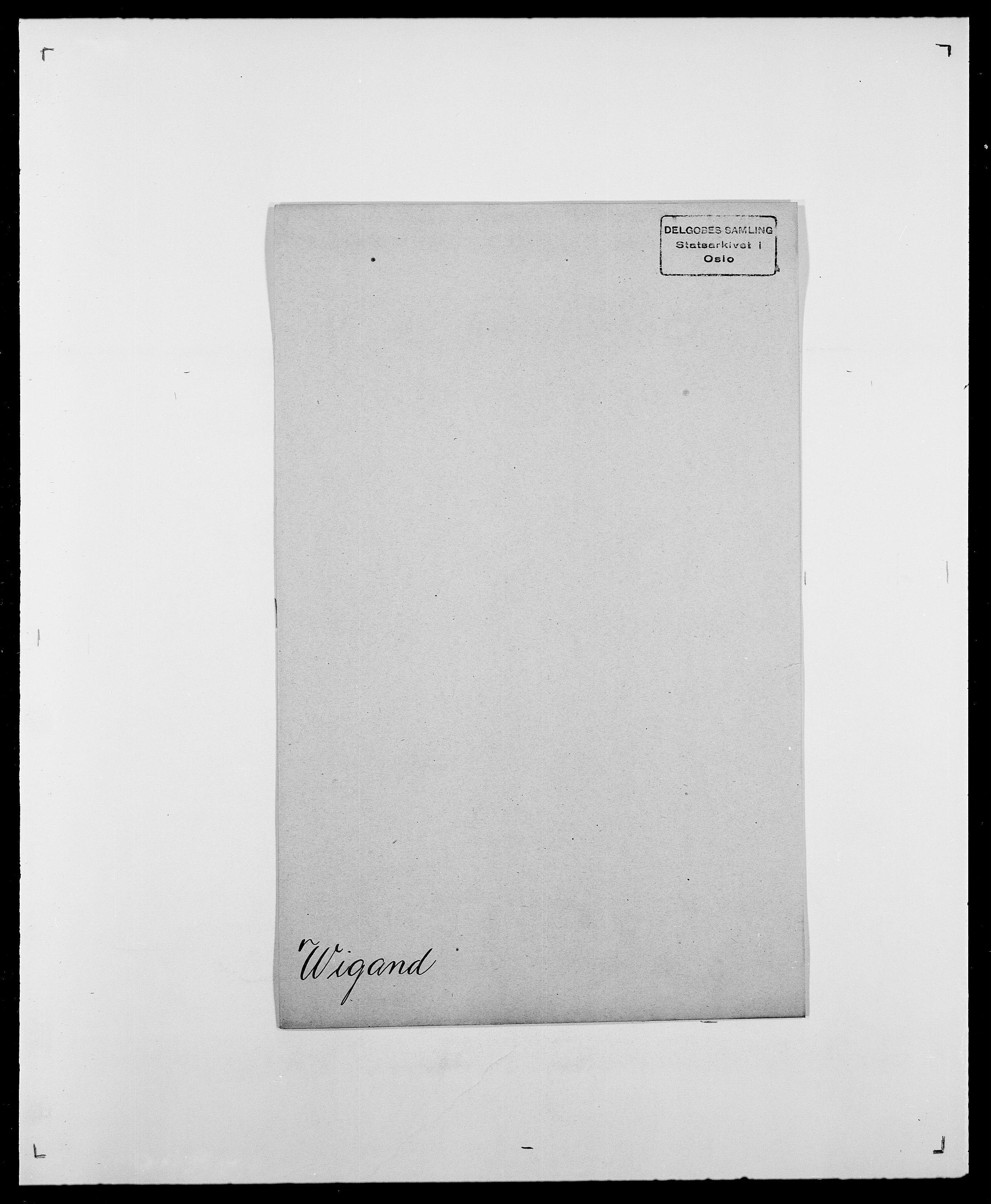 SAO, Delgobe, Charles Antoine - samling, D/Da/L0041: Vemmestad - Viker, s. 682