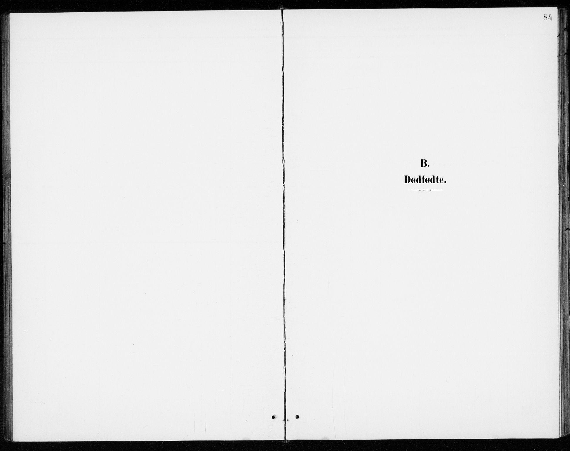 SAO, Gjerdrum prestekontor Kirkebøker, G/Gb/L0001: Klokkerbok nr. II 1, 1901-1944, s. 84