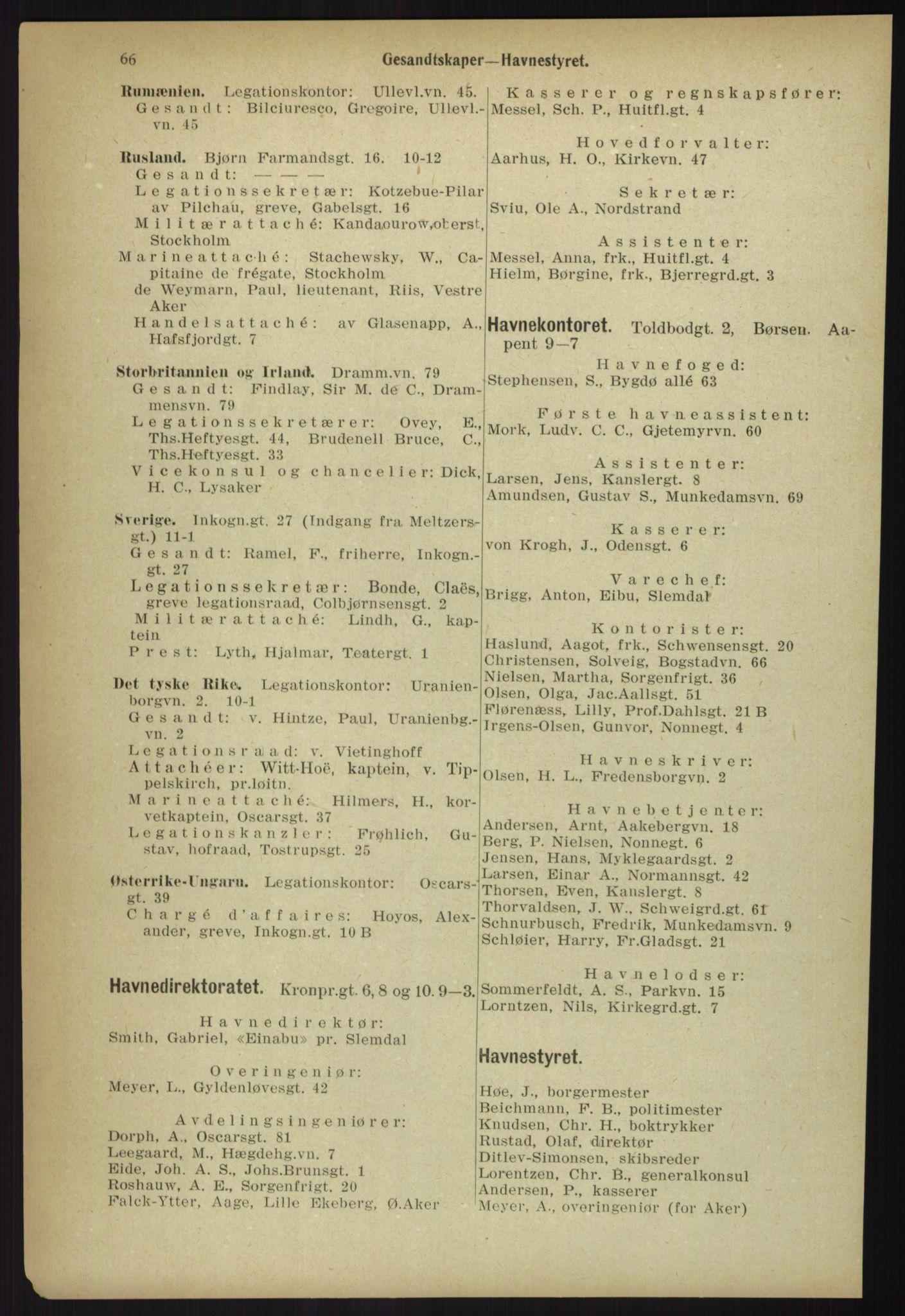 PUBL, Kristiania/Oslo adressebok, 1918, s. 73