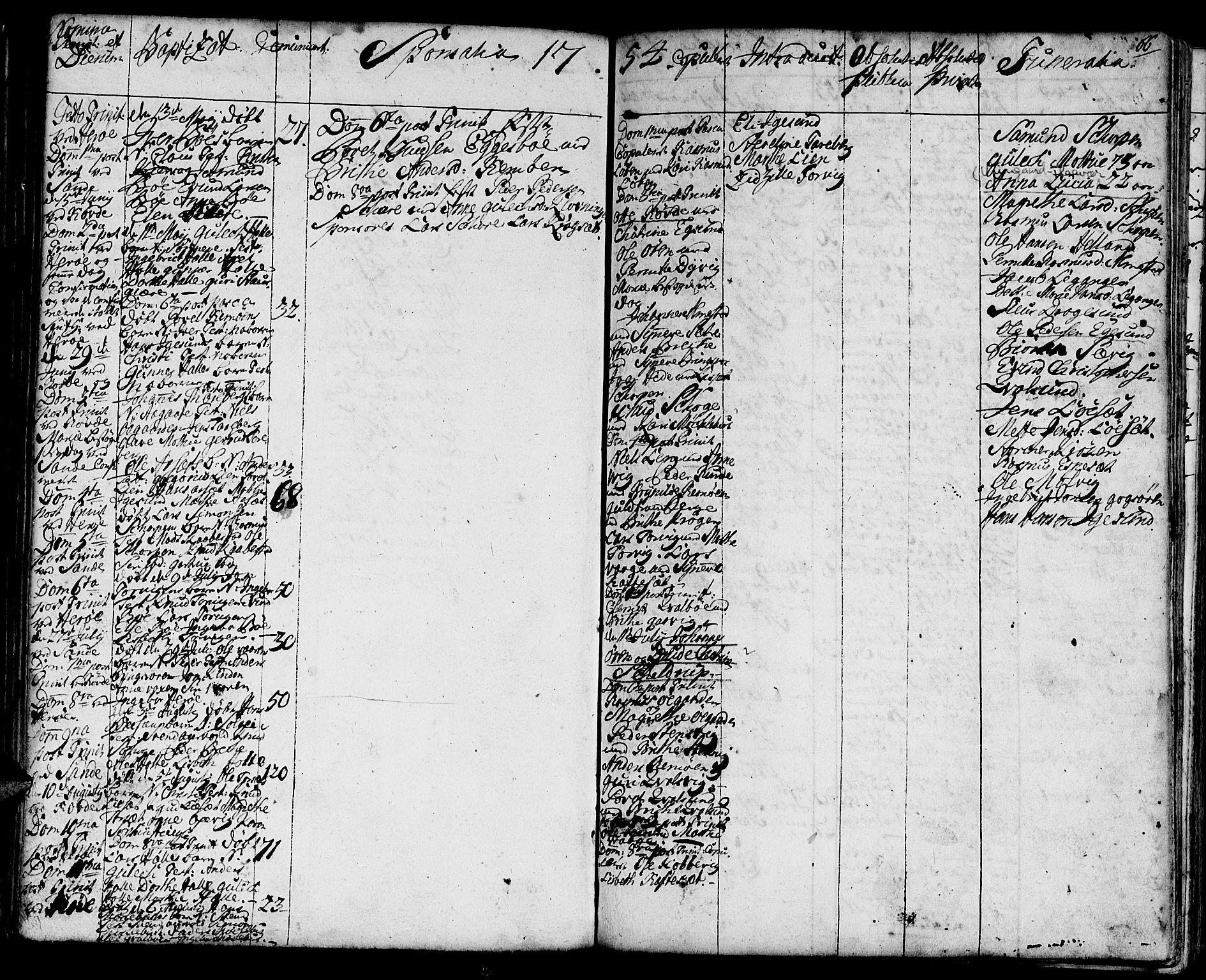 SAT, Ministerialprotokoller, klokkerbøker og fødselsregistre - Møre og Romsdal, 507/L0066: Ministerialbok nr. 507A01, 1731-1766, s. 66