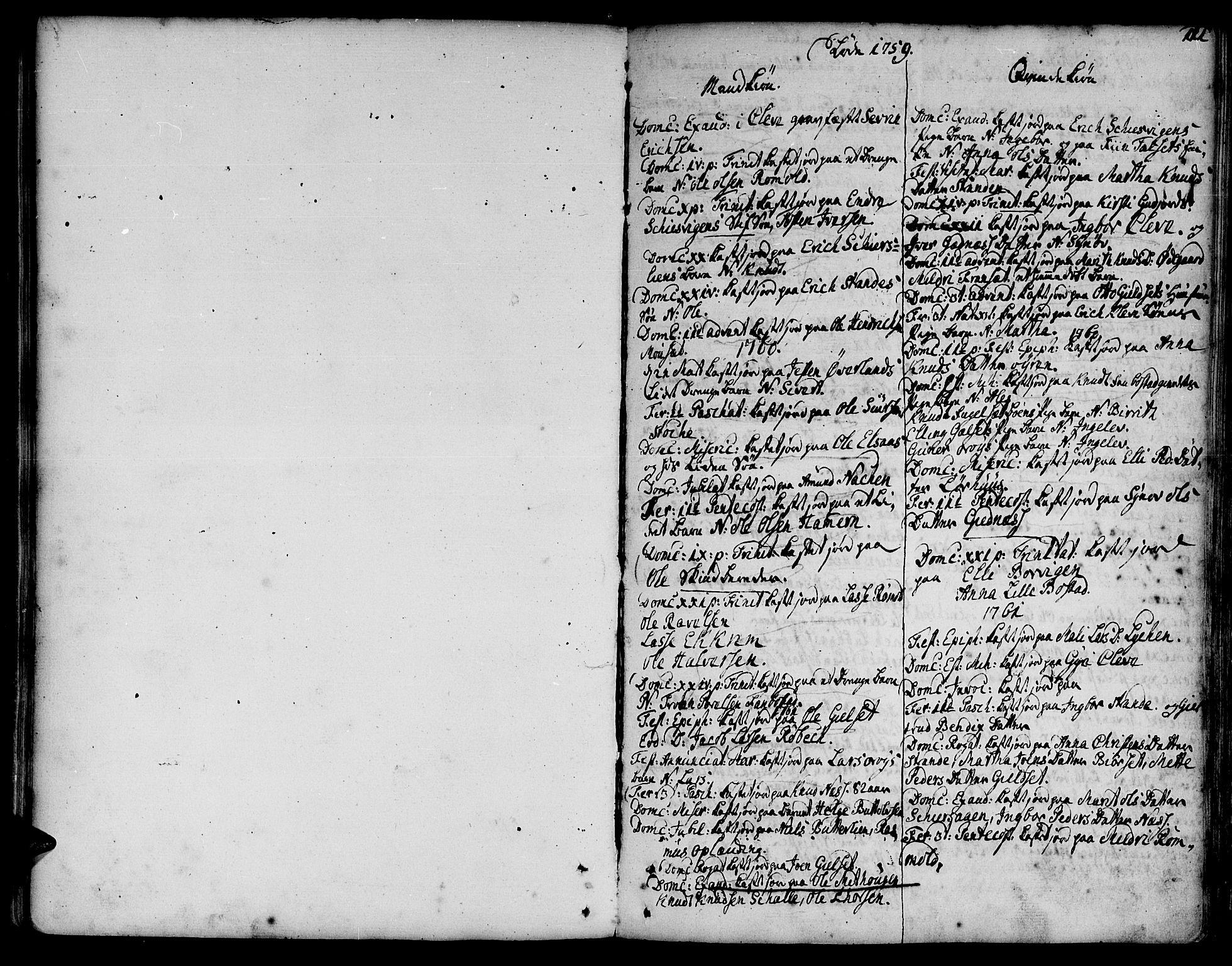 SAT, Ministerialprotokoller, klokkerbøker og fødselsregistre - Møre og Romsdal, 555/L0648: Ministerialbok nr. 555A01, 1759-1793, s. 111