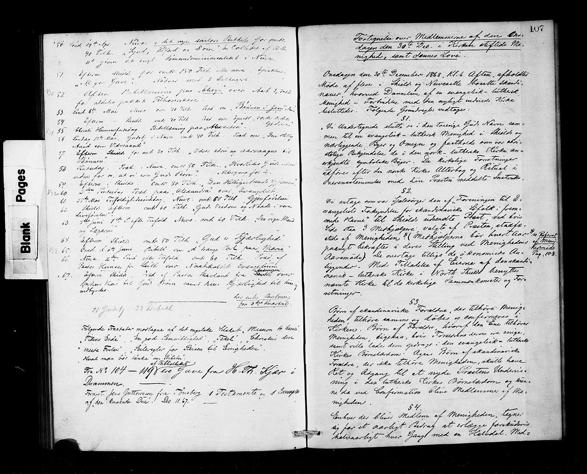 SAB, Den Norske Sjømannsmisjon i utlandet*, Ministerialbok nr. A 1, 1865-1883, s. 107