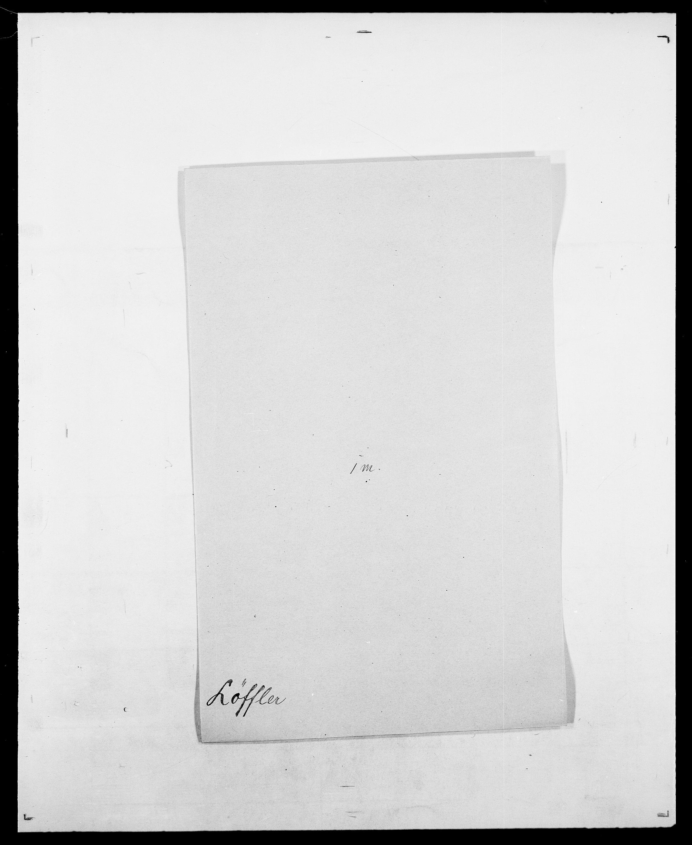SAO, Delgobe, Charles Antoine - samling, D/Da/L0025: Løberg - Mazar, s. 22