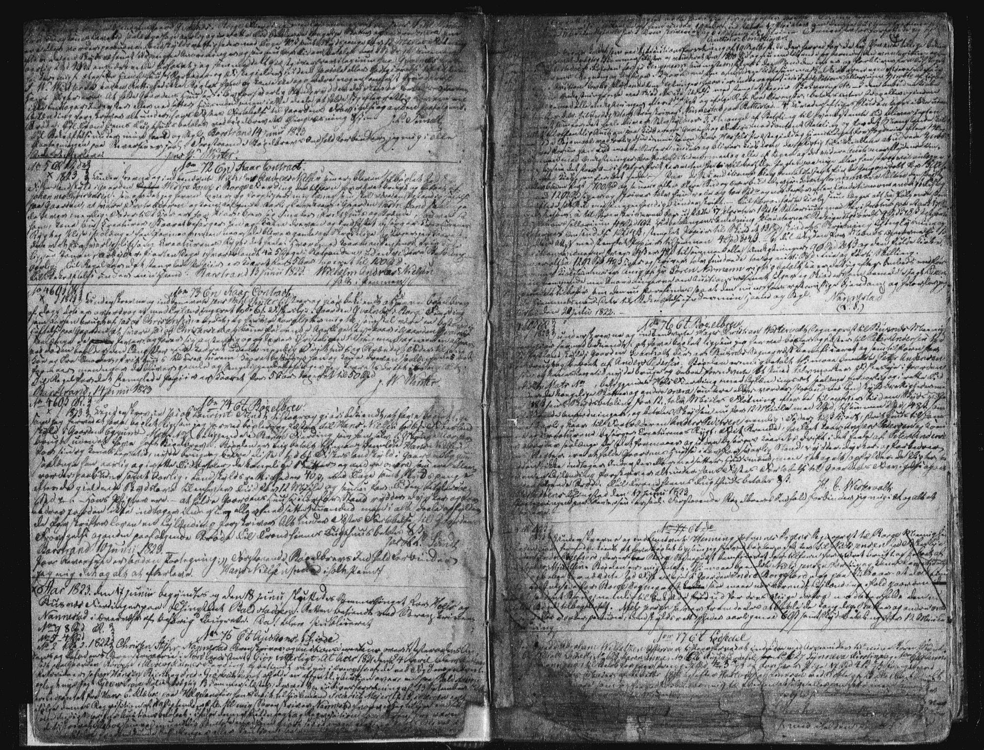SAT, Vesterålen sorenskriveri, 2/2Ca/L0007: Pantebok nr. G, 1823-1836, s. 4